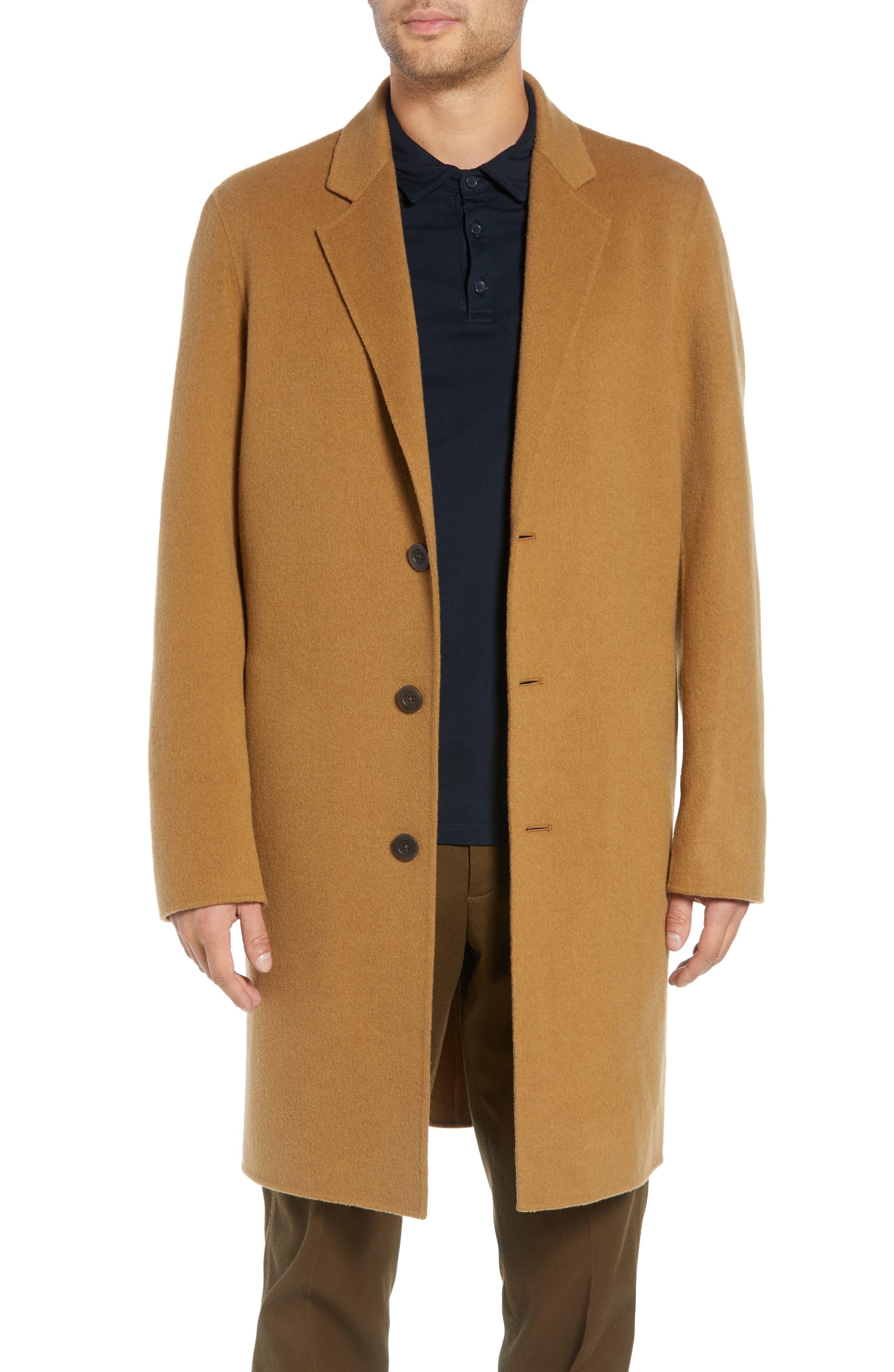 Wool Blend Car Coat,                         Main,                         color, 263