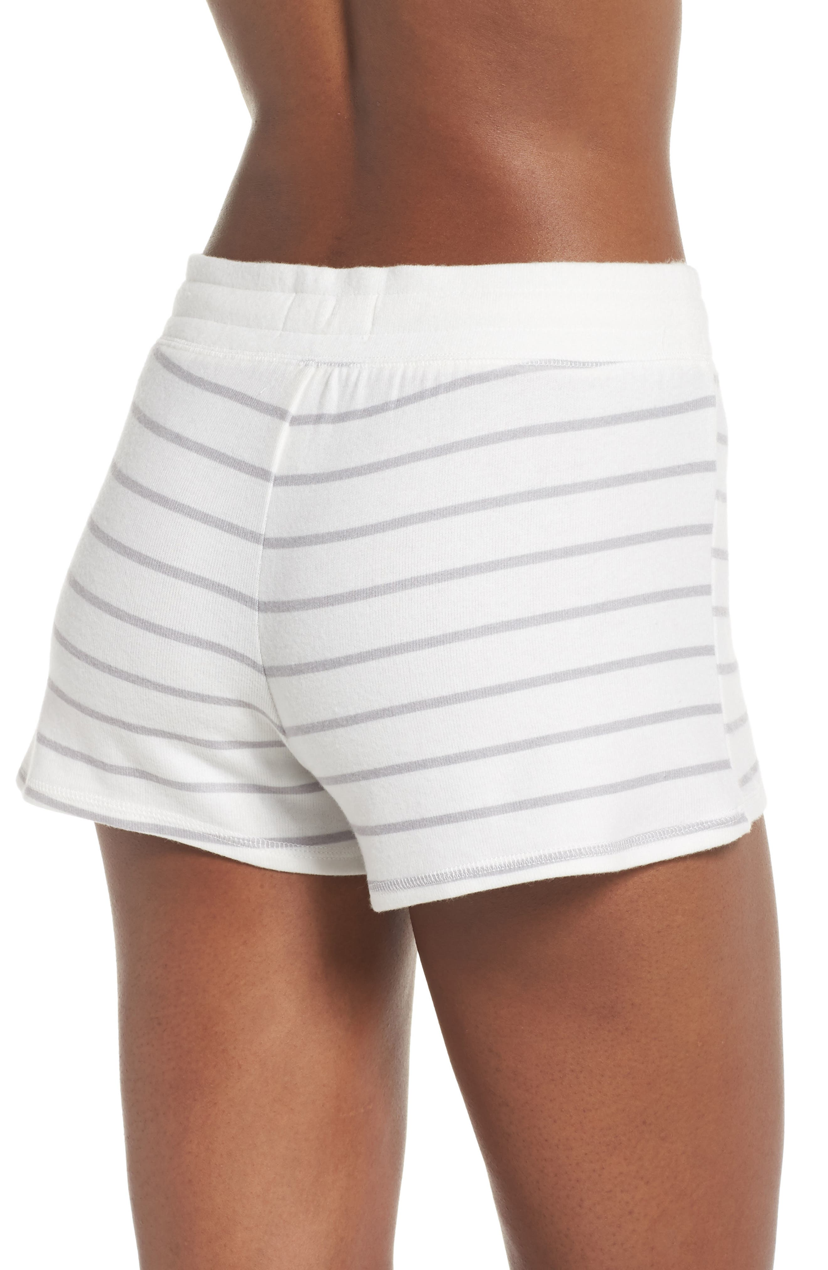 Skull Stripe Lounge Shorts,                             Alternate thumbnail 2, color,                             900