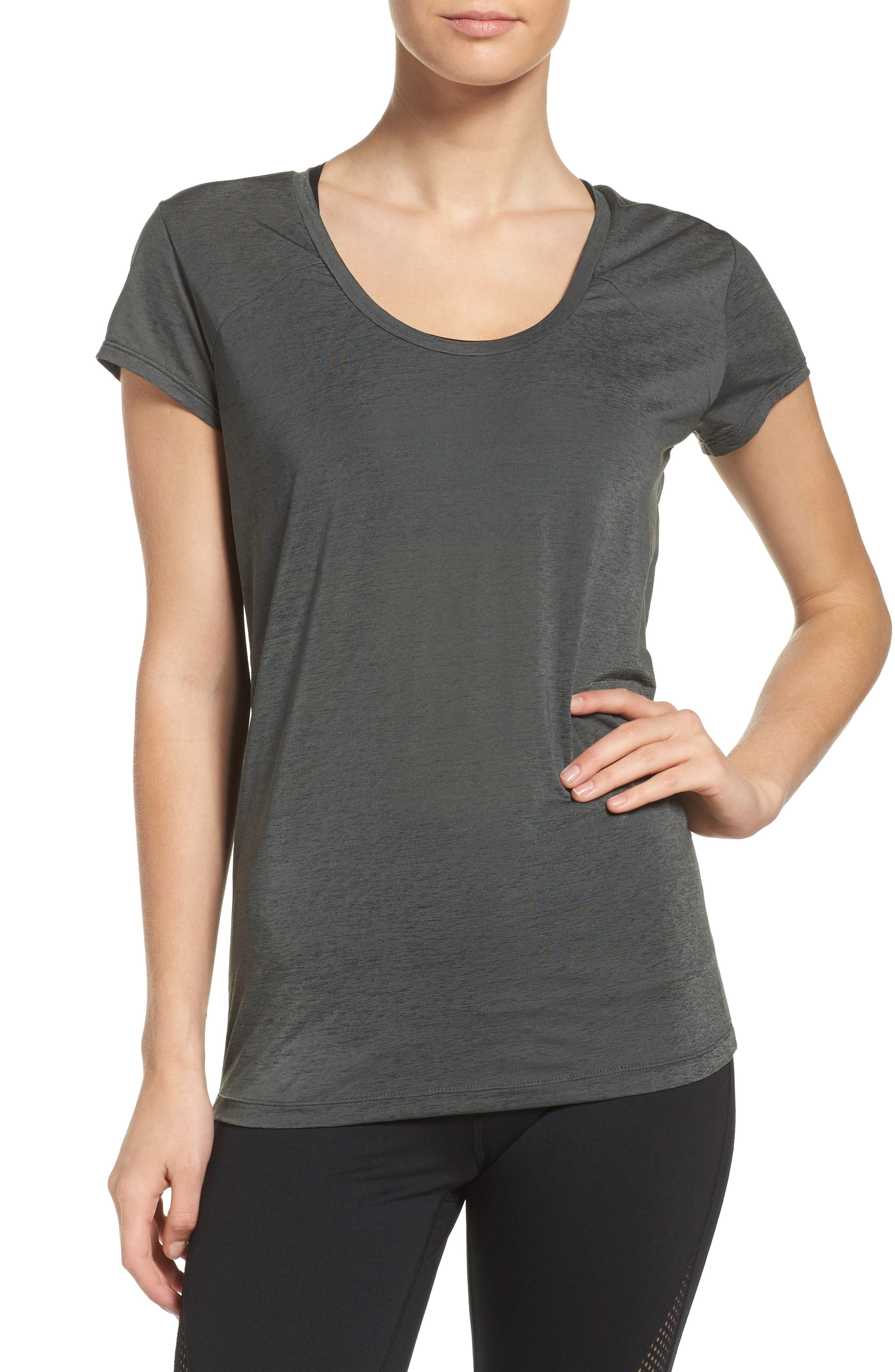 Barre Babe Tee,                         Main,                         color, 021