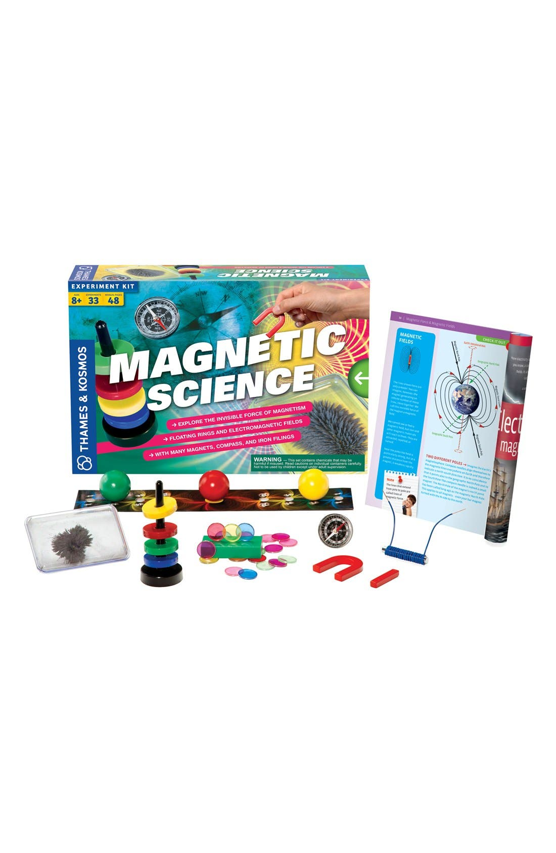 'Magnetic Science' Experiment Kit,                             Main thumbnail 1, color,                             000