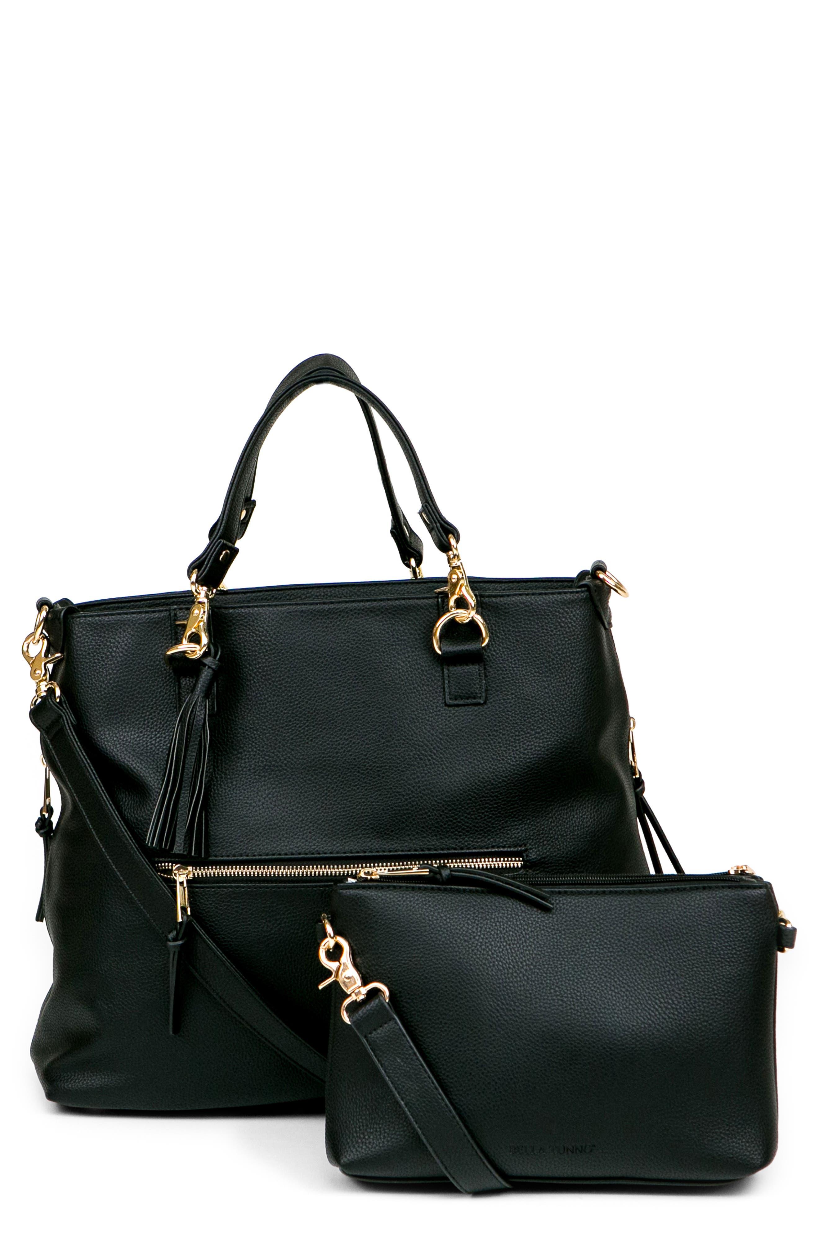 Boss Convertible Diaper Backpack,                         Main,                         color, BLACK