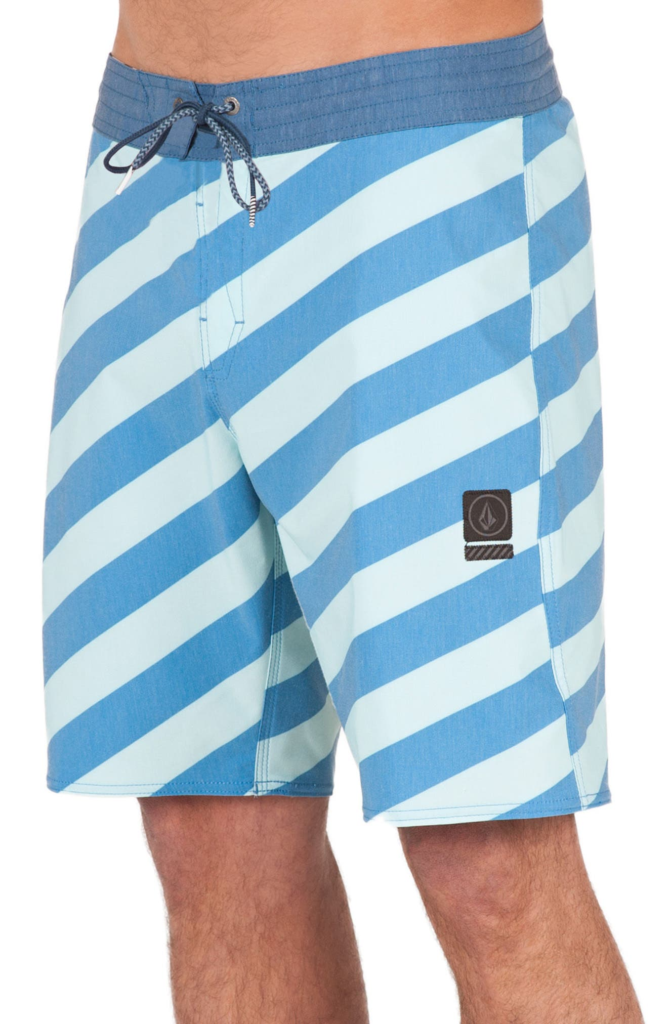 Stripey Slinger Board Shorts,                             Alternate thumbnail 25, color,