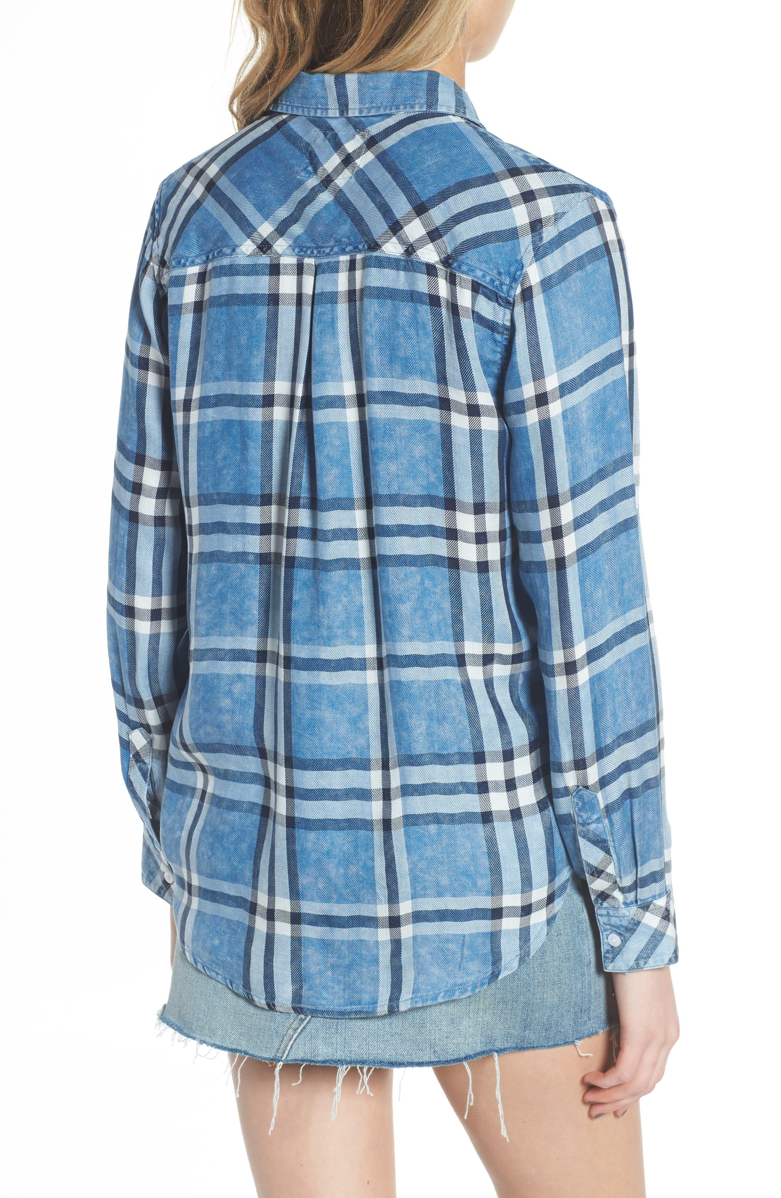 Hunter Plaid Shirt,                             Alternate thumbnail 210, color,