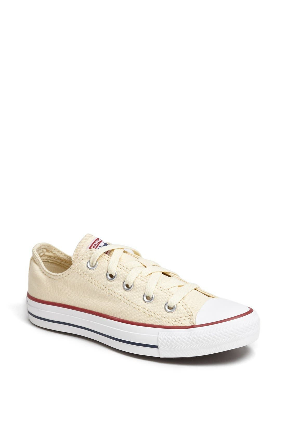 CONVERSE,                             Chuck Taylor<sup>®</sup> All Star<sup>®</sup> 'Ox' Sneaker,                             Main thumbnail 1, color,                             100