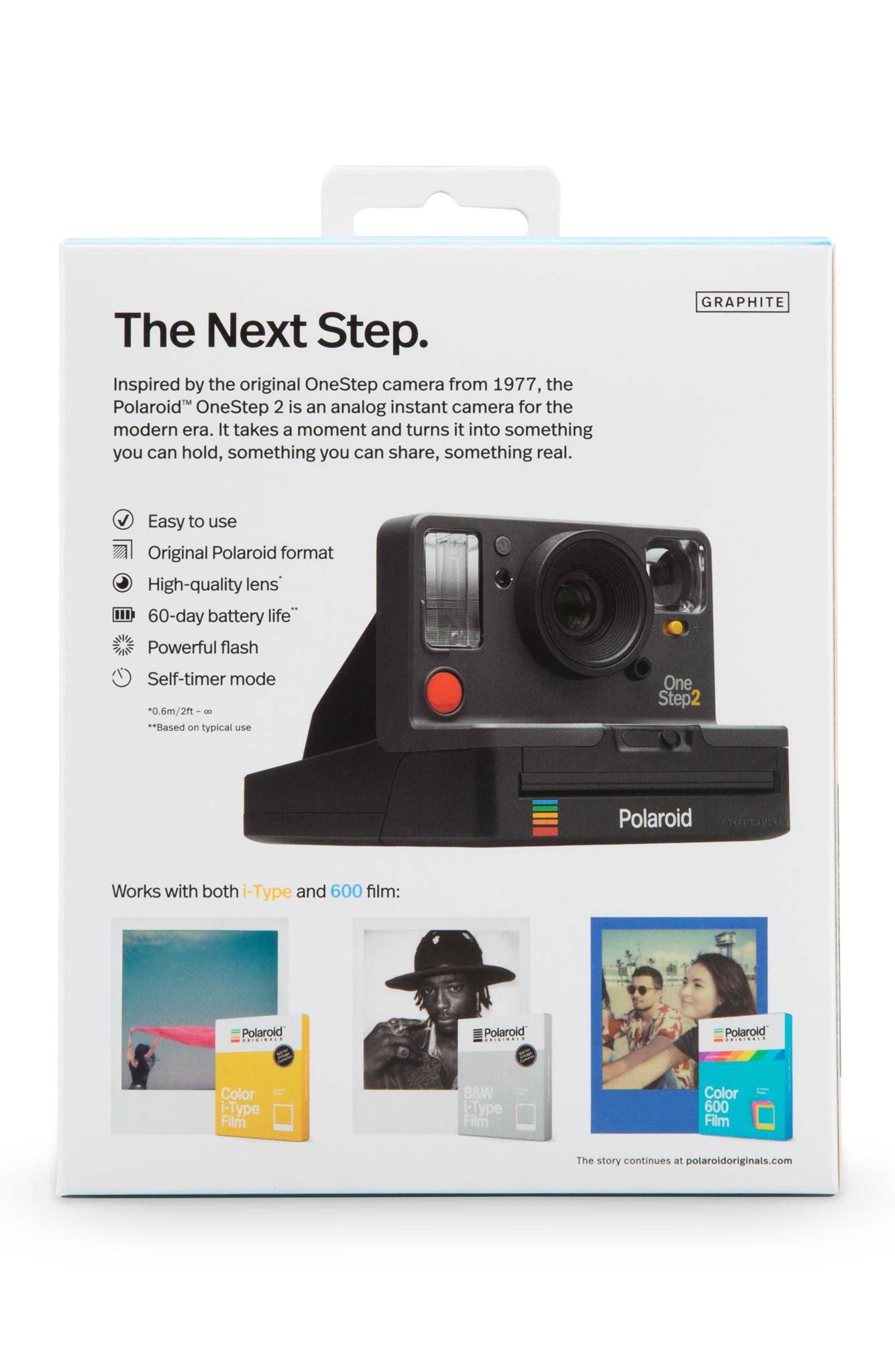 OneStep 2 Analog Instant Camera,                             Alternate thumbnail 4, color,                             GRAPHITE