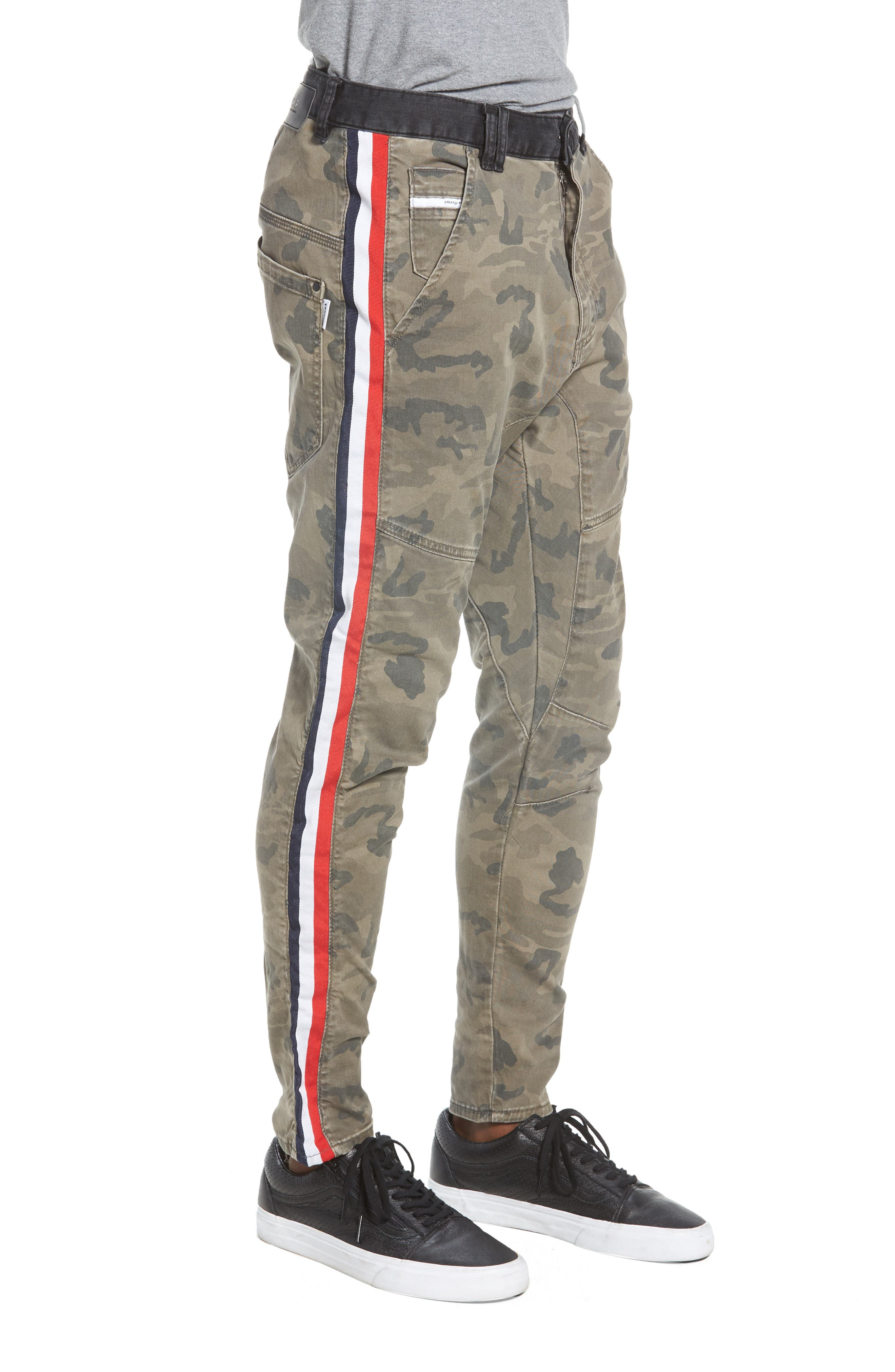 Sergeant Slim Fit Pants,                             Alternate thumbnail 3, color,                             AIRWOLF CAMO