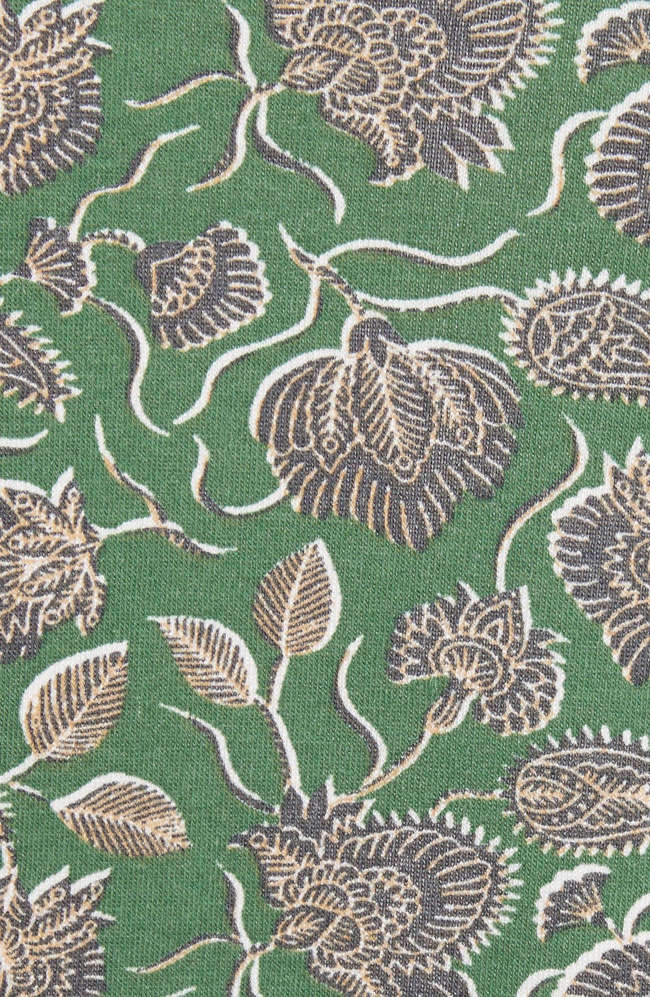 Lotus Paisley Sweatshirt,                             Alternate thumbnail 5, color,                             317