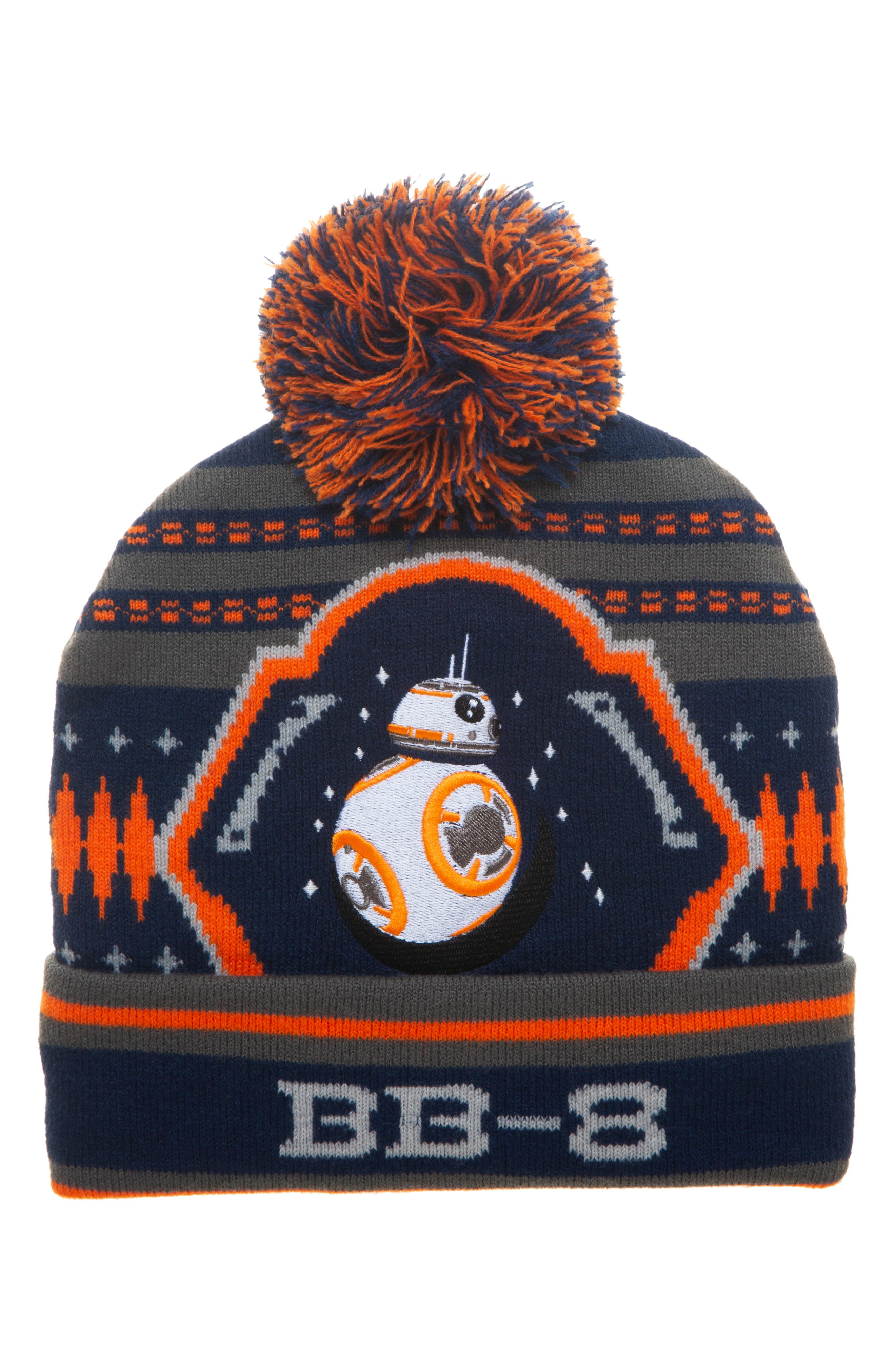 Boys Star Wars Bb8 Pompom Beanie