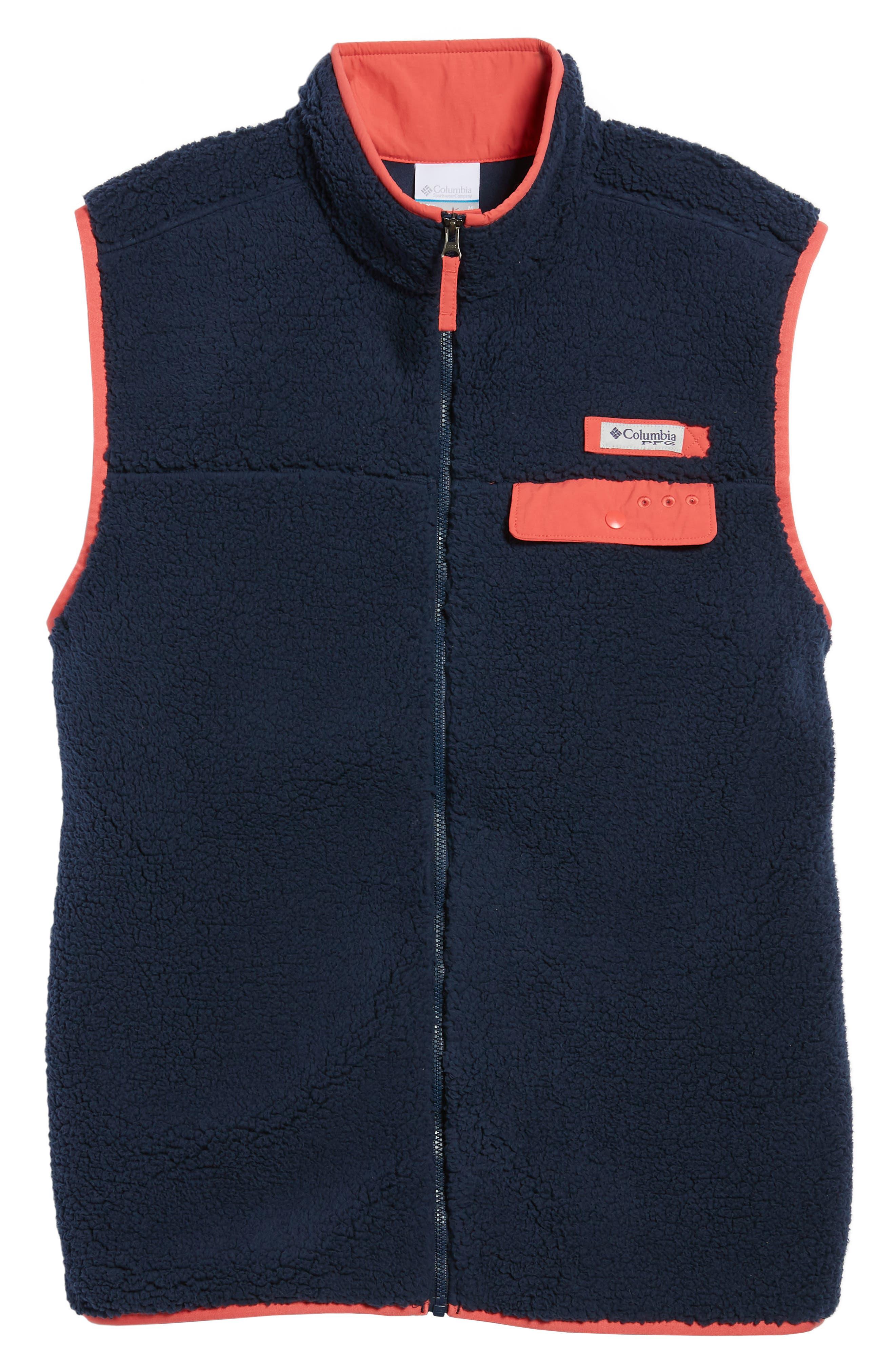 Sportswear Harborside Heavyweight Fleece Vest,                             Alternate thumbnail 15, color,