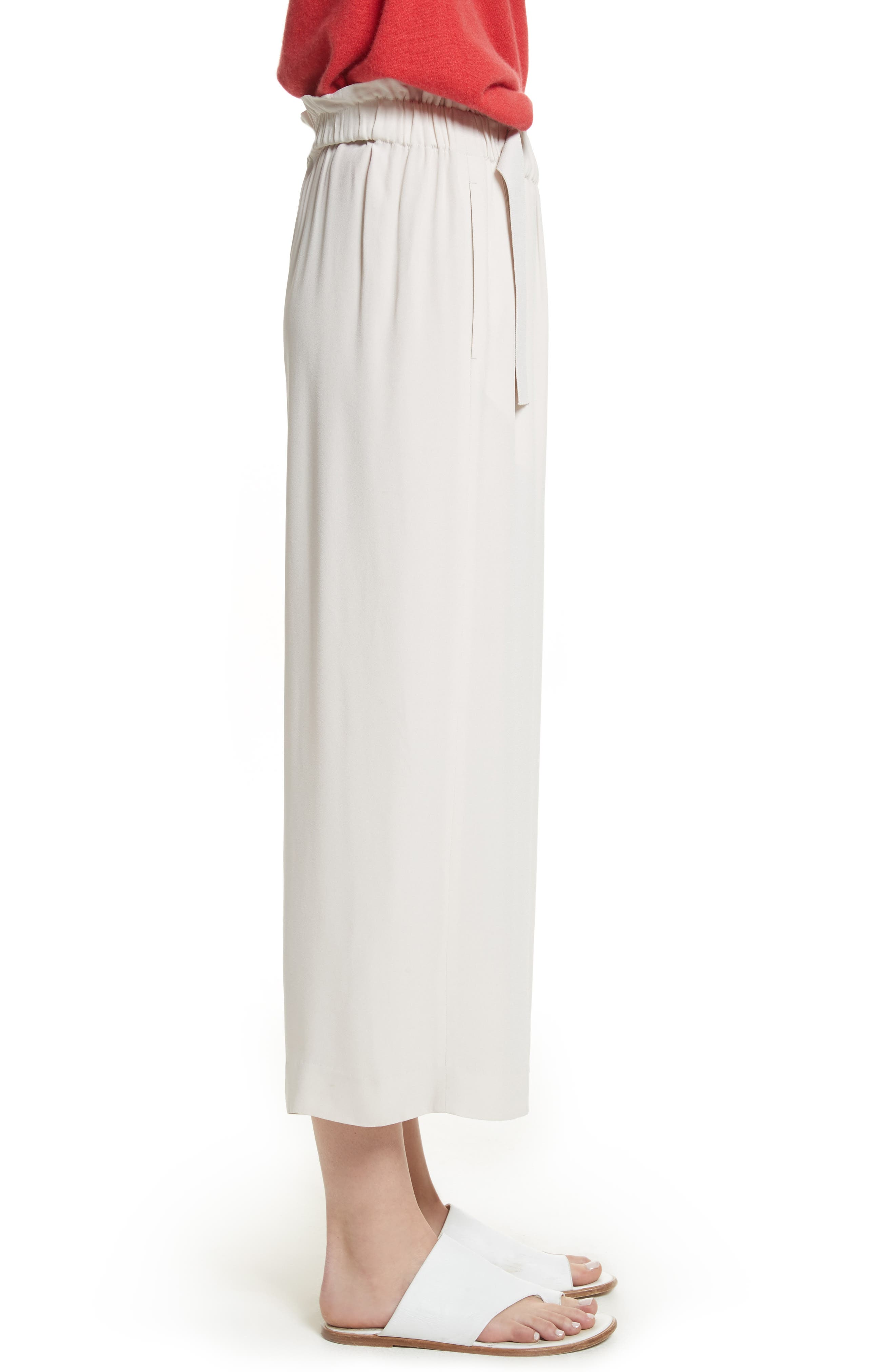 Cinched Waist Culottes,                             Alternate thumbnail 6, color,