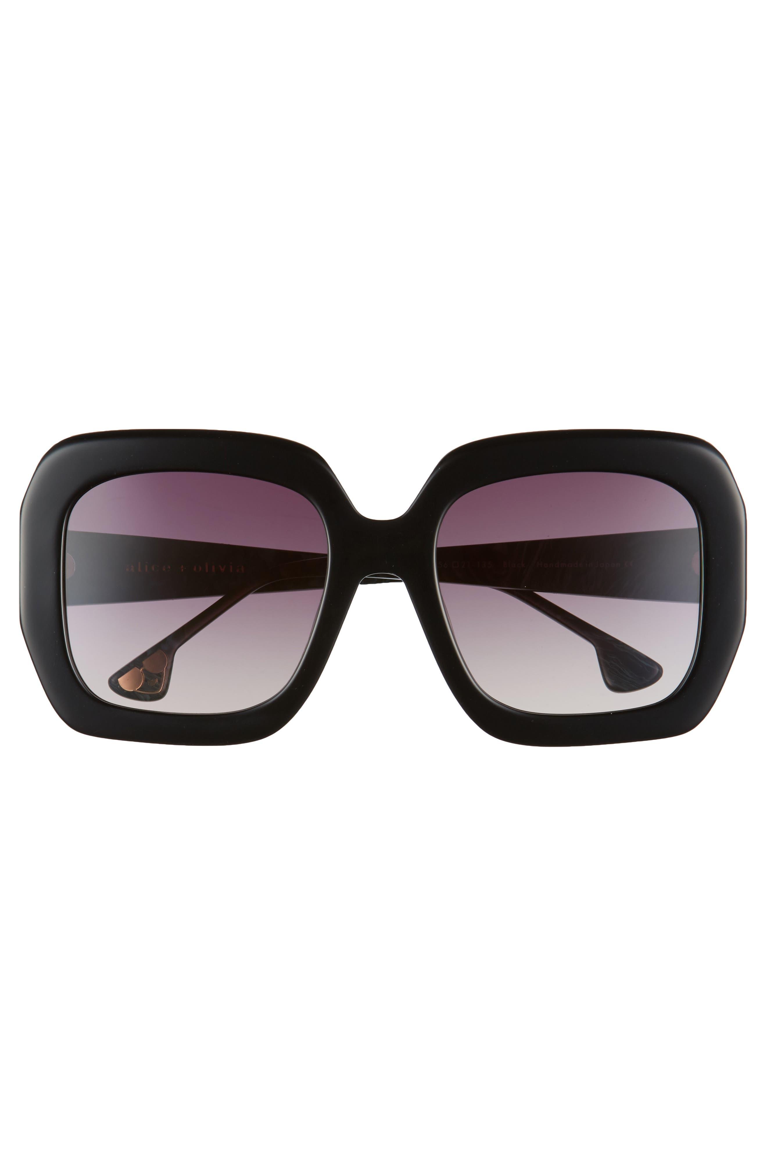 Lexington 55mm Square Sunglasses,                             Alternate thumbnail 7, color,