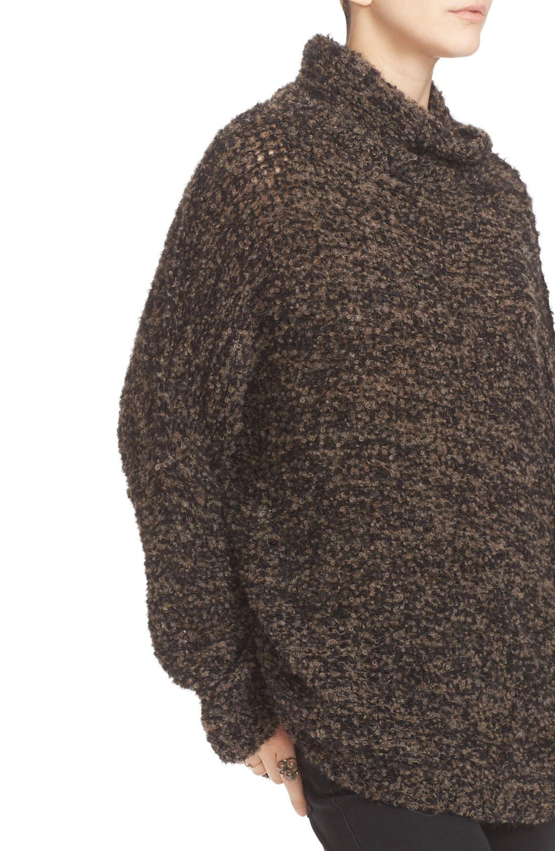 'She's All That' Knit Turtleneck Sweater,                             Alternate thumbnail 12, color,