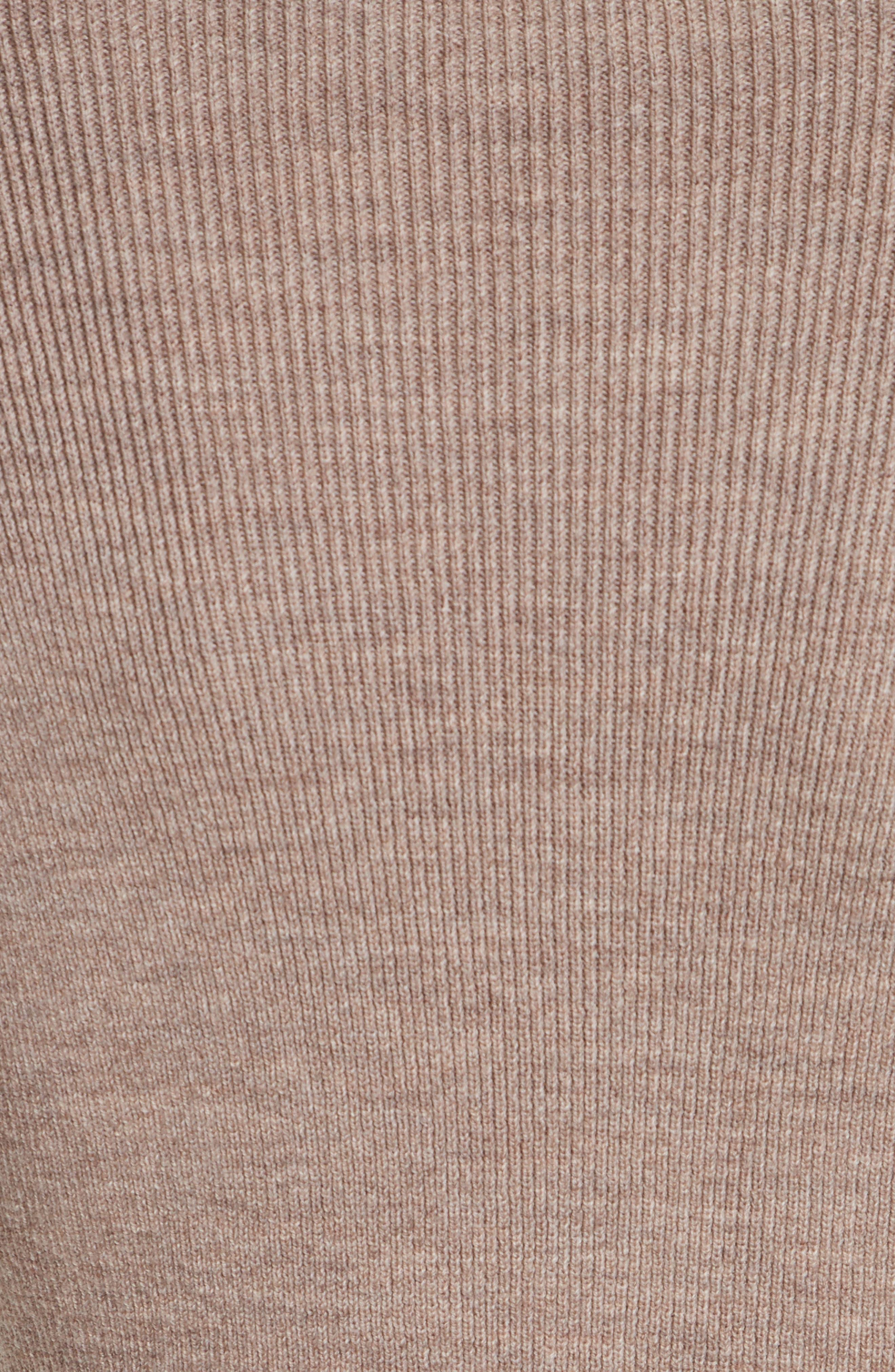 Mock Neck Sweater,                             Alternate thumbnail 5, color,                             260