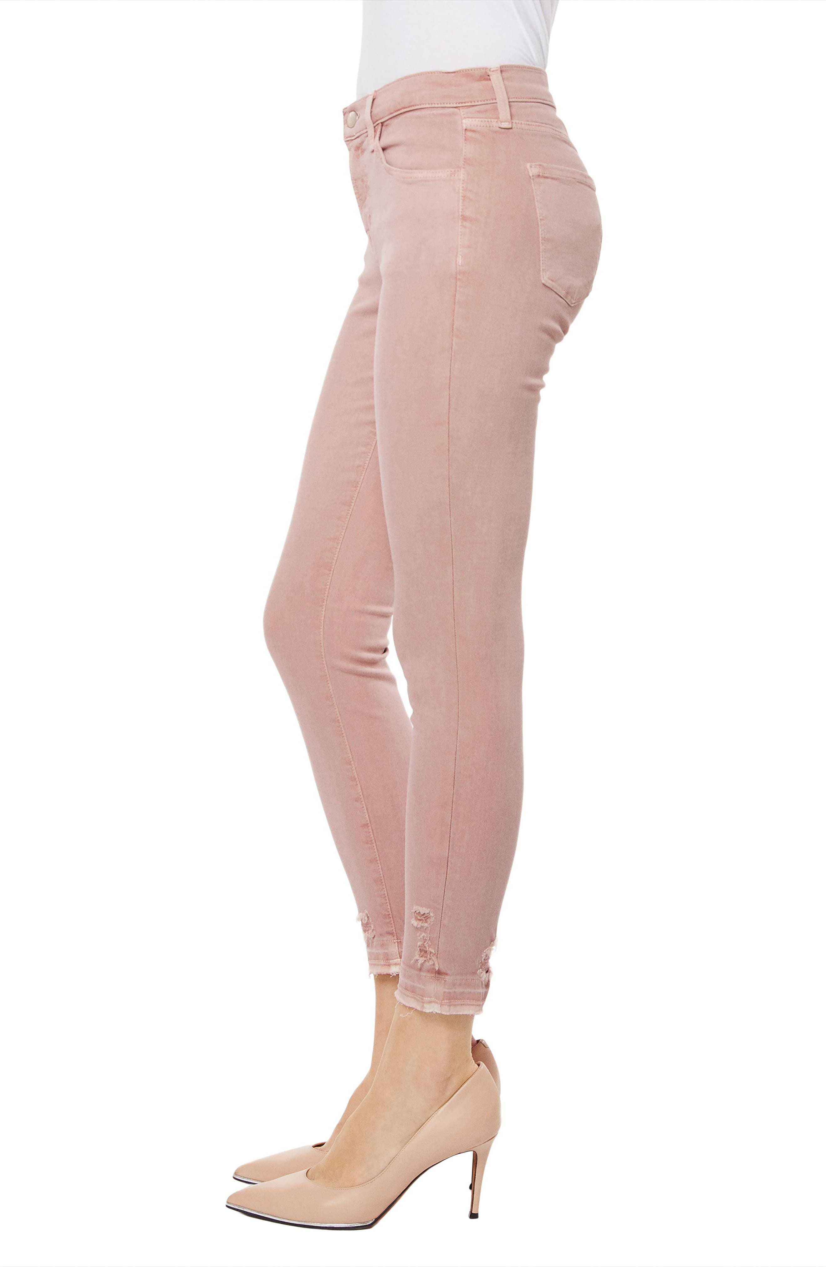 835 Capri Skinny Jeans,                             Alternate thumbnail 3, color,