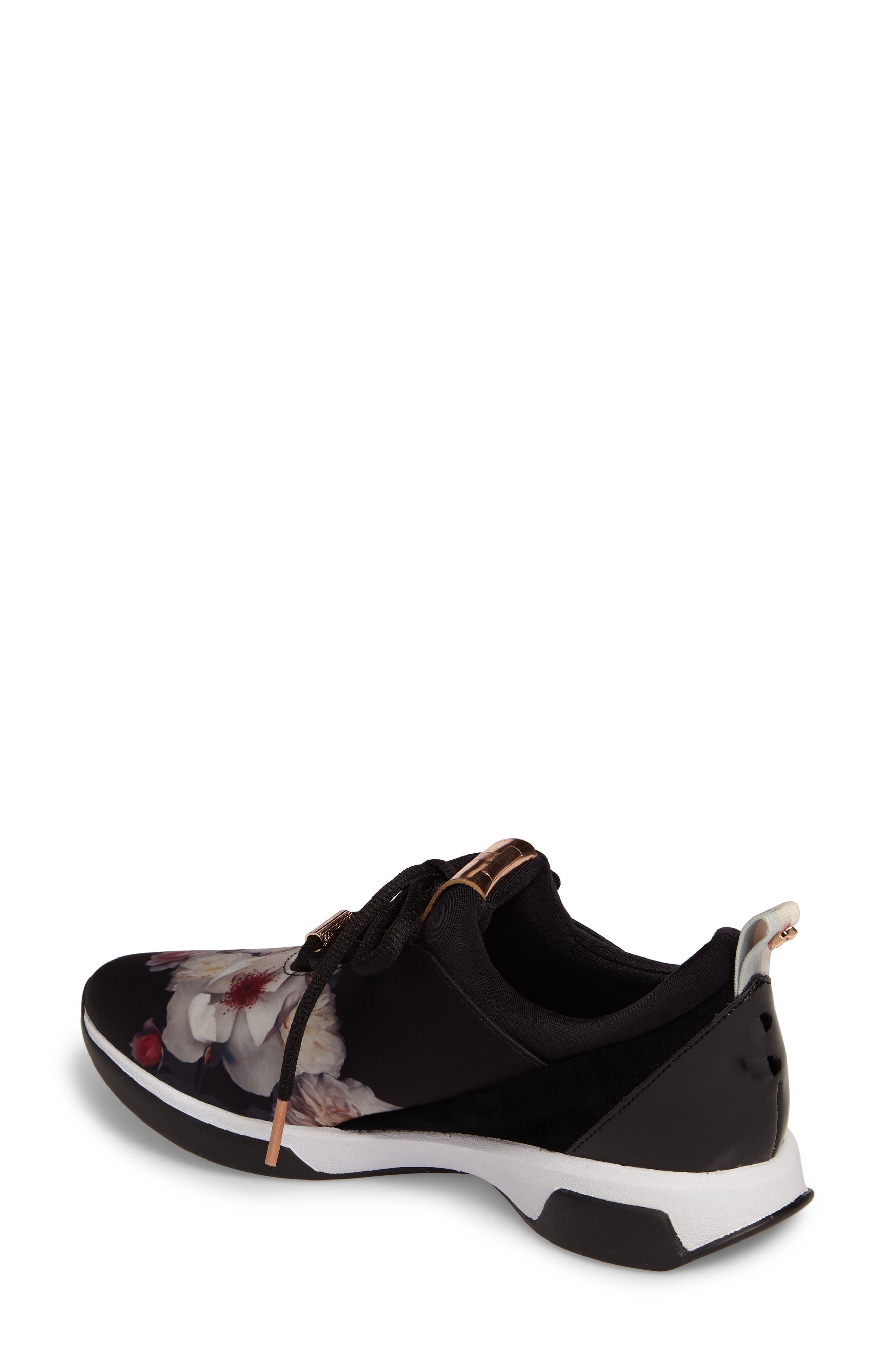 Cepape Floral Sneaker,                             Alternate thumbnail 2, color,