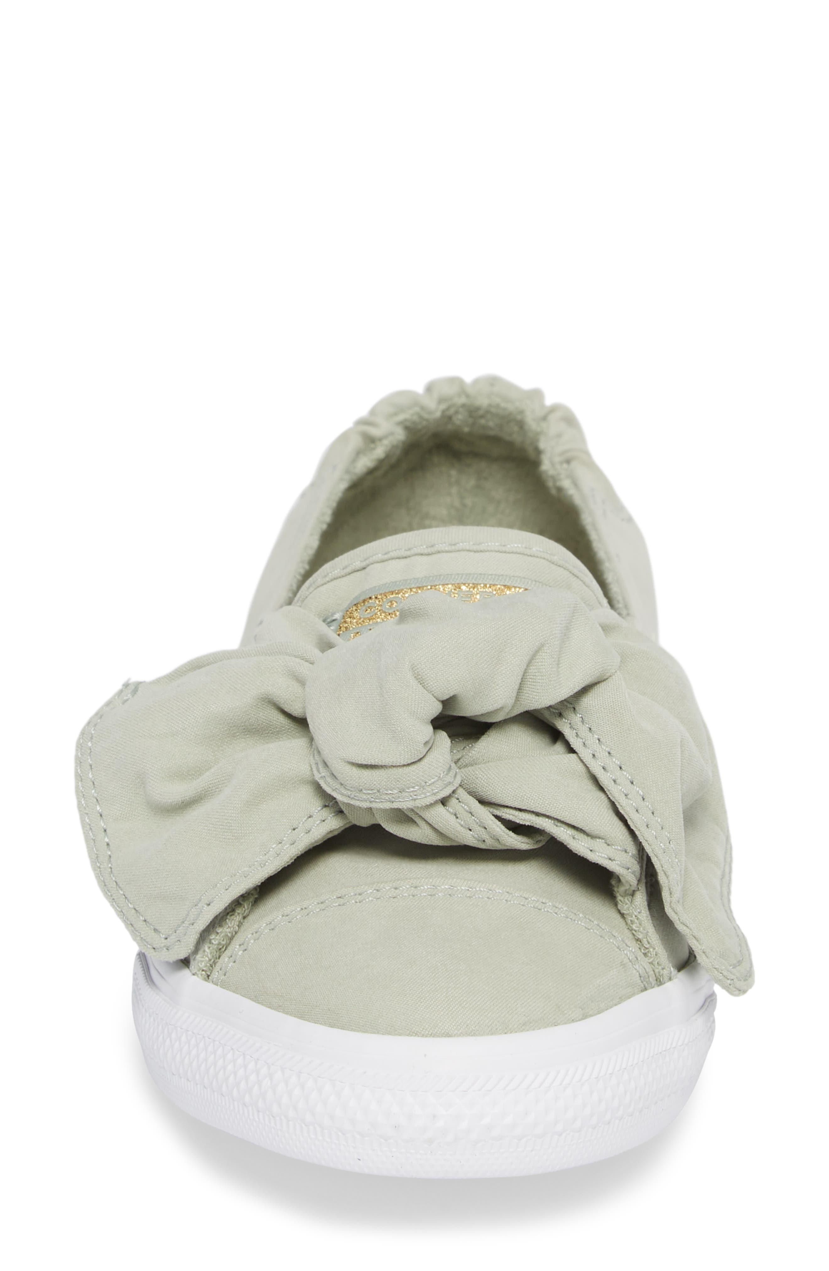 Chuck Taylor <sup>®</sup> All Star<sup>®</sup> Knot Slip-On Sneaker,                             Alternate thumbnail 4, color,                             368