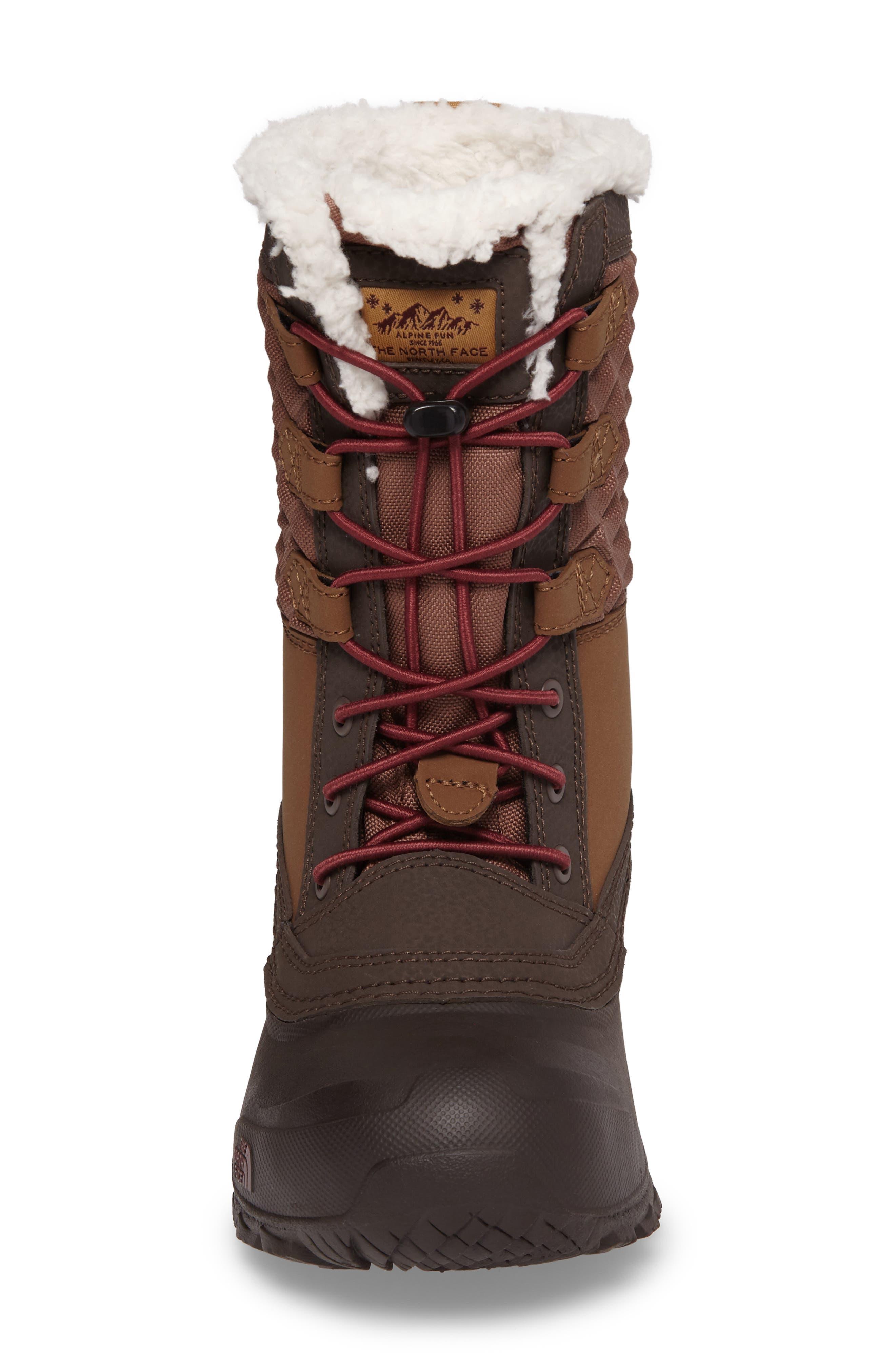 Shellista Lace III Faux Fur Waterproof Boot,                             Alternate thumbnail 11, color,