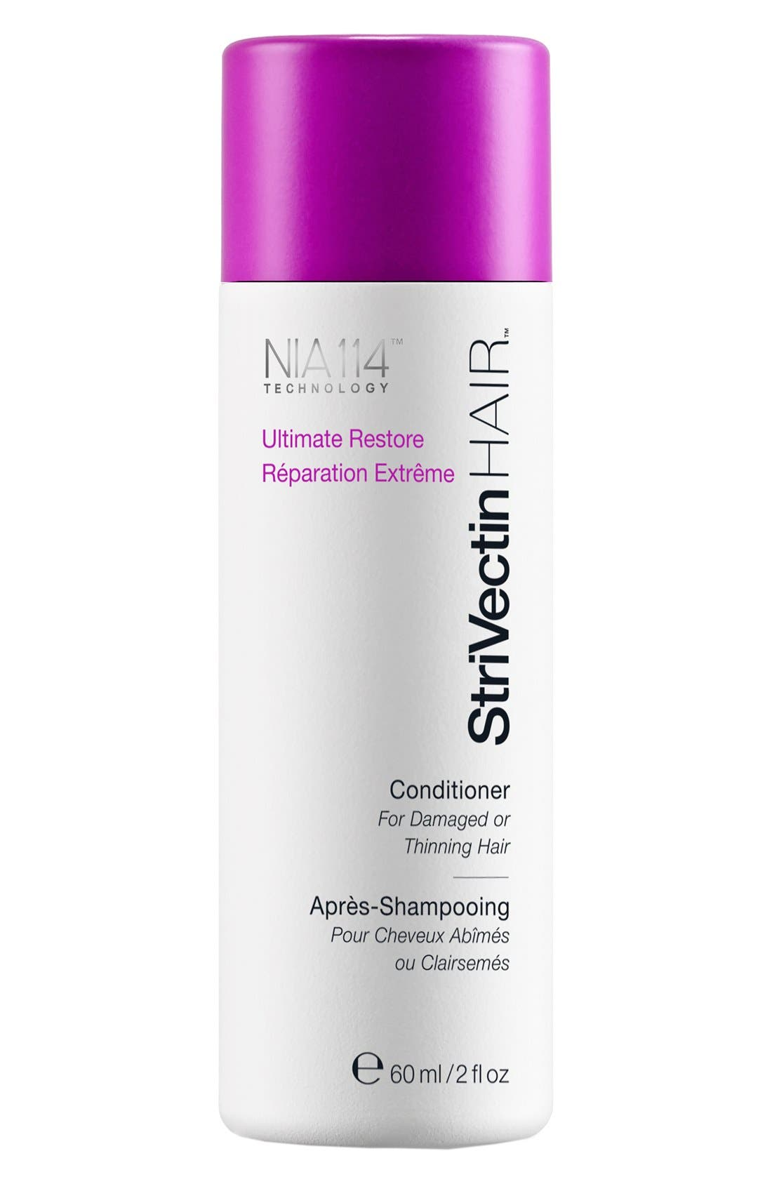 StriVectinHAIR<sup>™</sup> 'Ultimate Restore' Conditioner for Damaged or Thinning Hair,                             Alternate thumbnail 2, color,                             000