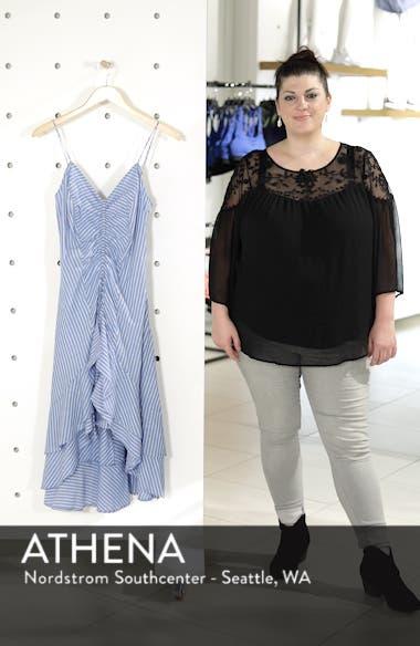 Eberta Stripe High/Low Dress, sales video thumbnail