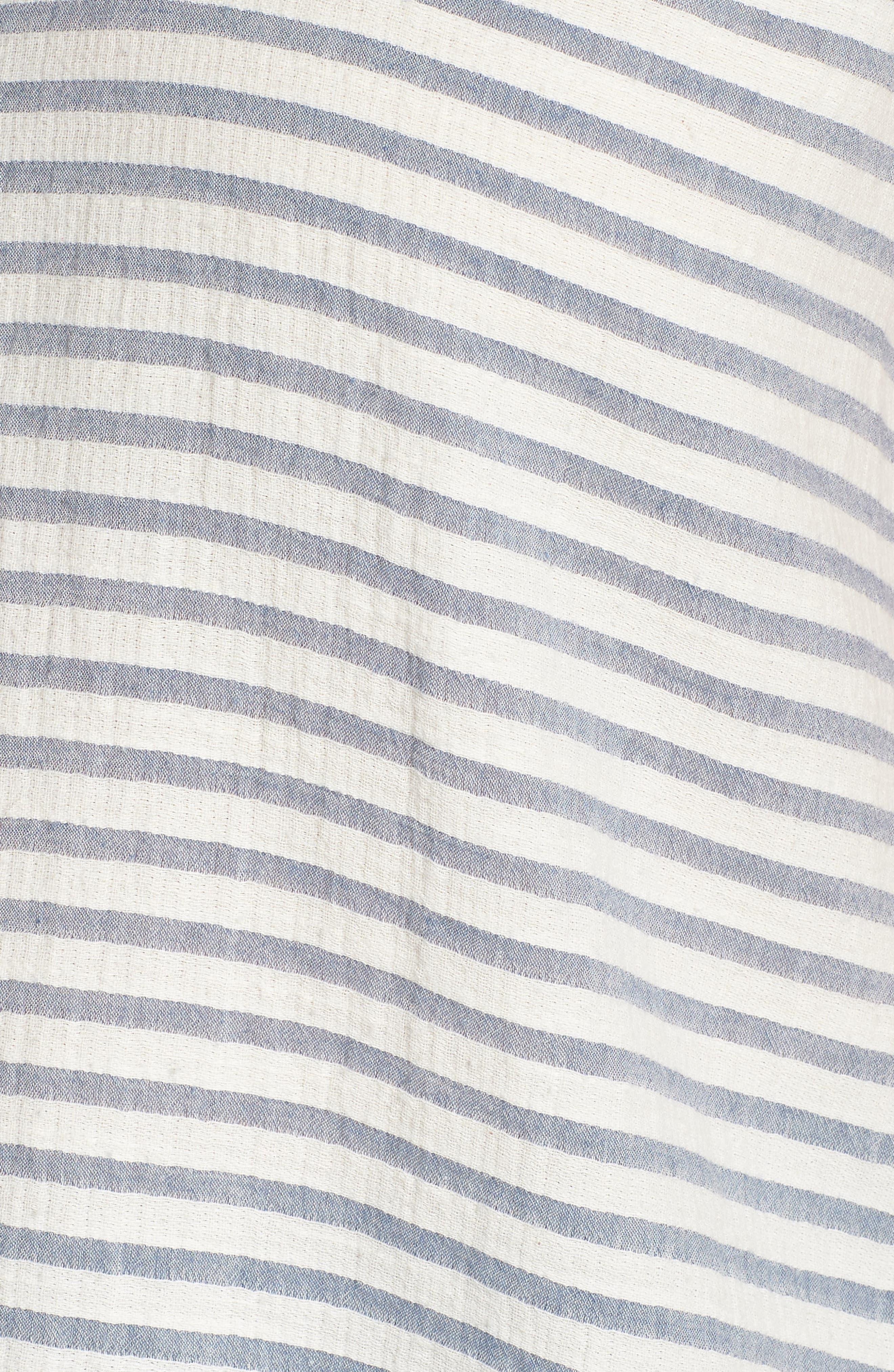 CASLON<SUP>®</SUP>,                             Tie Shoulder Stripe Tank,                             Alternate thumbnail 6, color,                             901