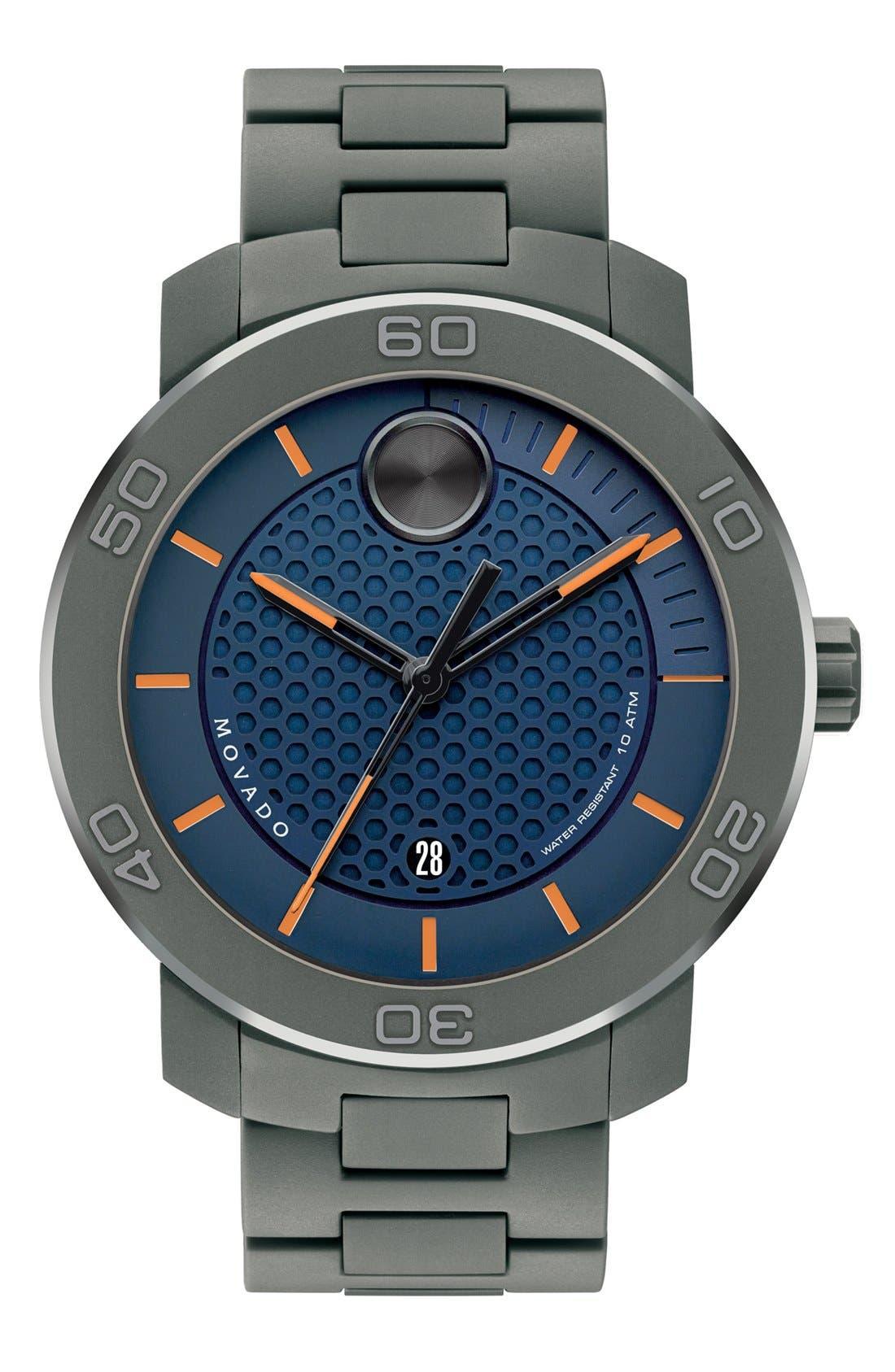 'Bold' Bracelet Watch, 46mm,                             Main thumbnail 3, color,