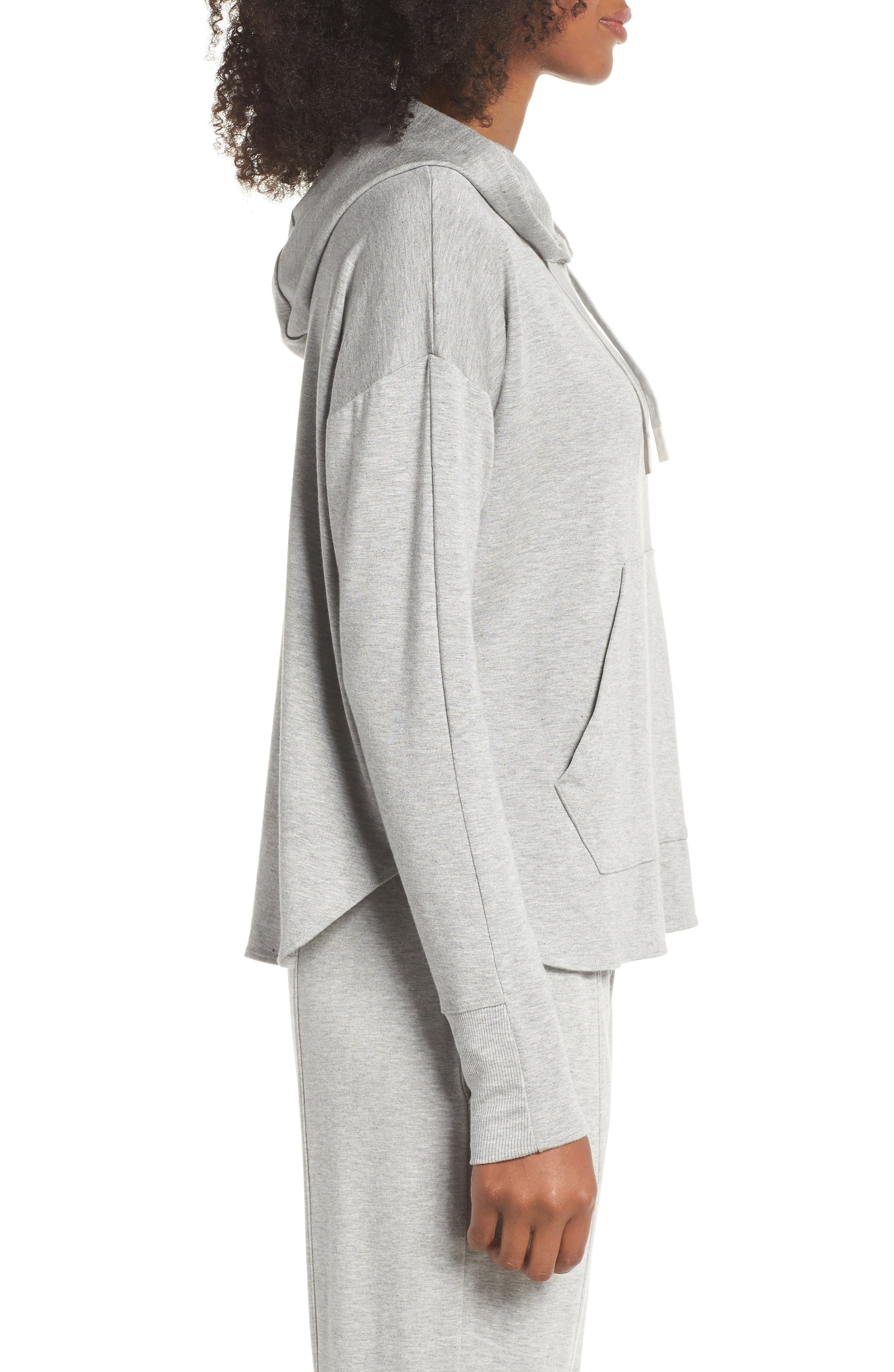 Pacific Hoodie,                             Alternate thumbnail 3, color,                             LIGHT HEATHER GREY