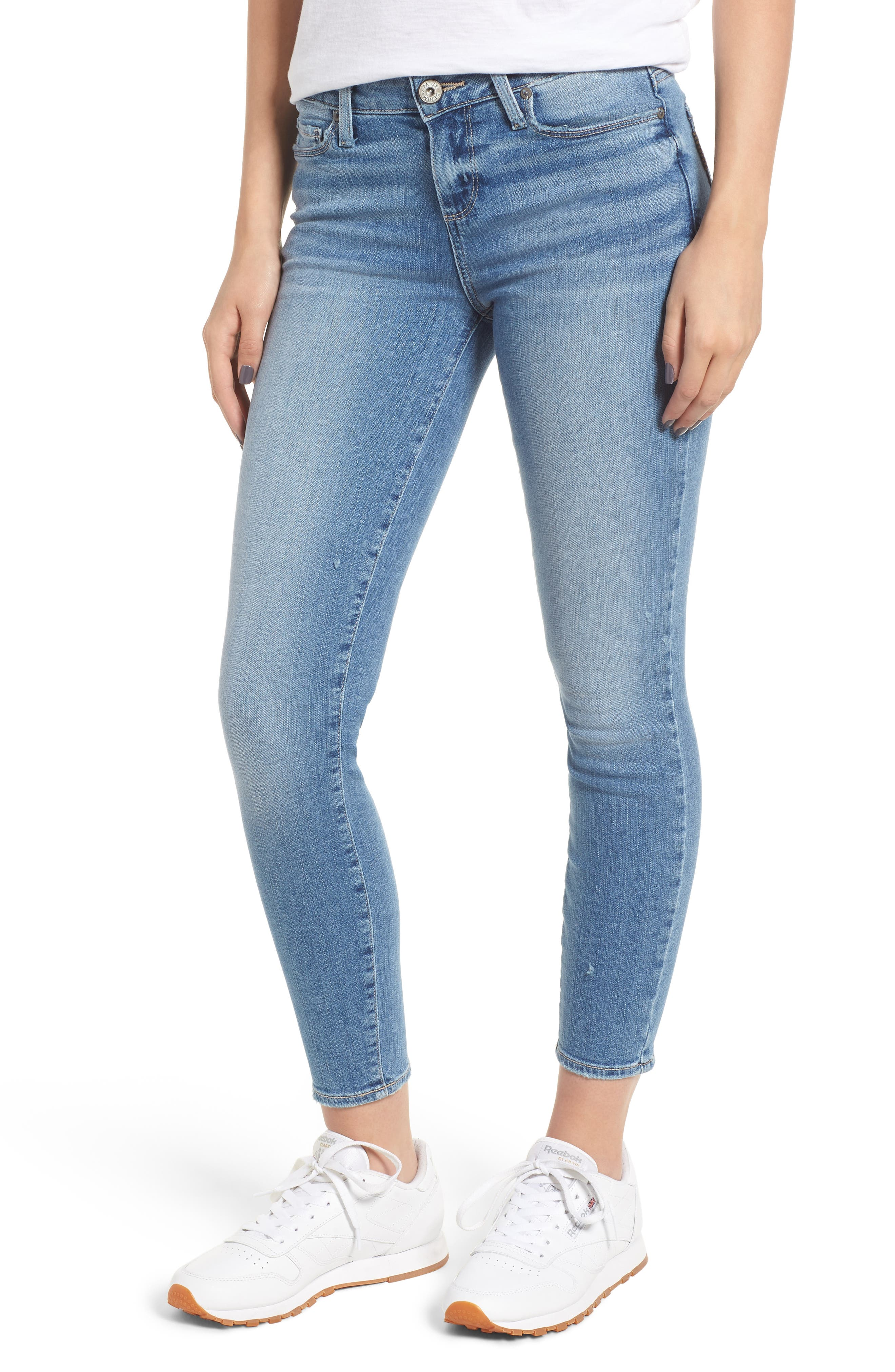 Verdugo Crop Skinny Jeans,                             Main thumbnail 1, color,                             SOTO