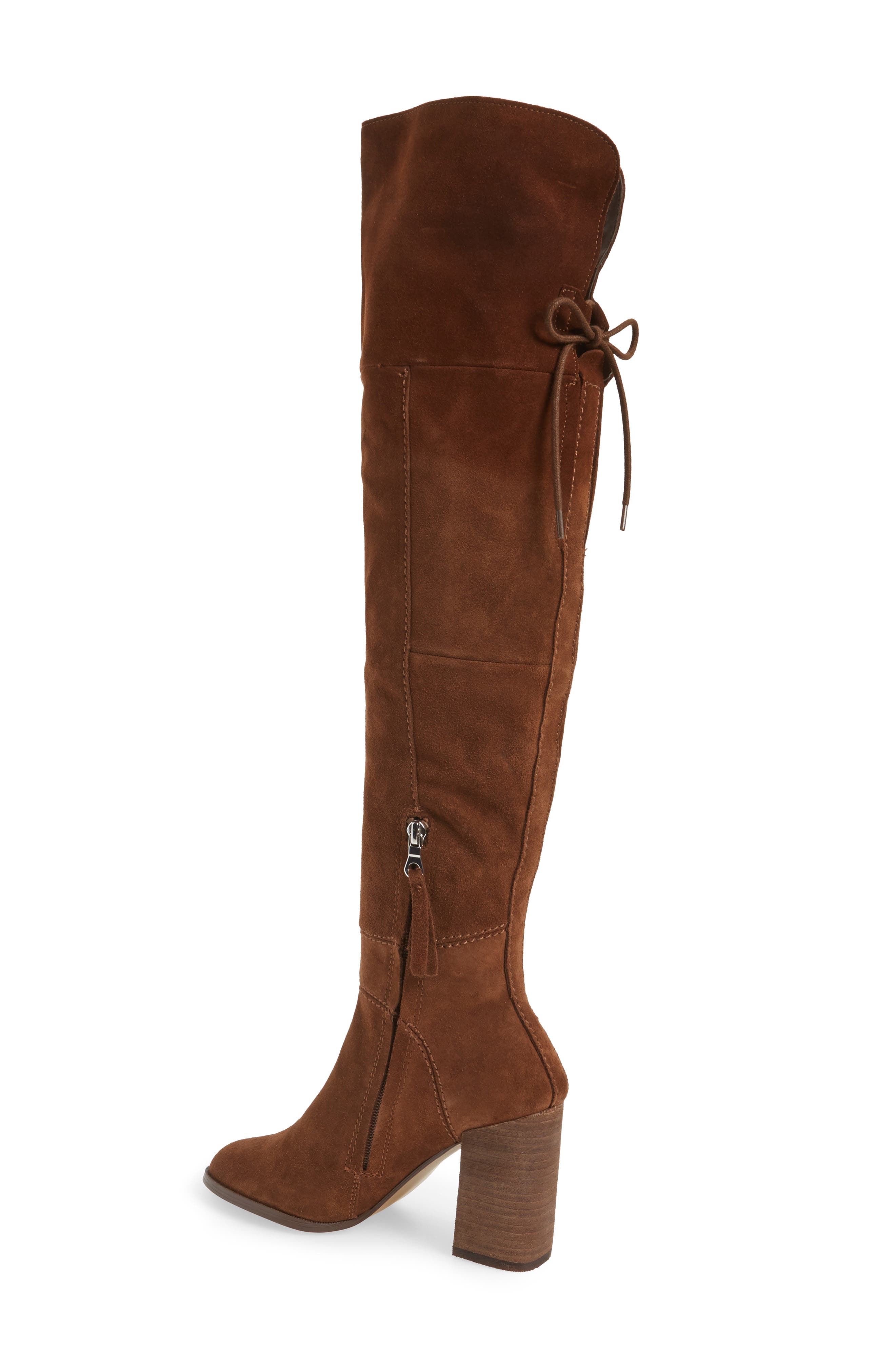 Novela Cuffable Over the Knee Boot,                             Alternate thumbnail 4, color,