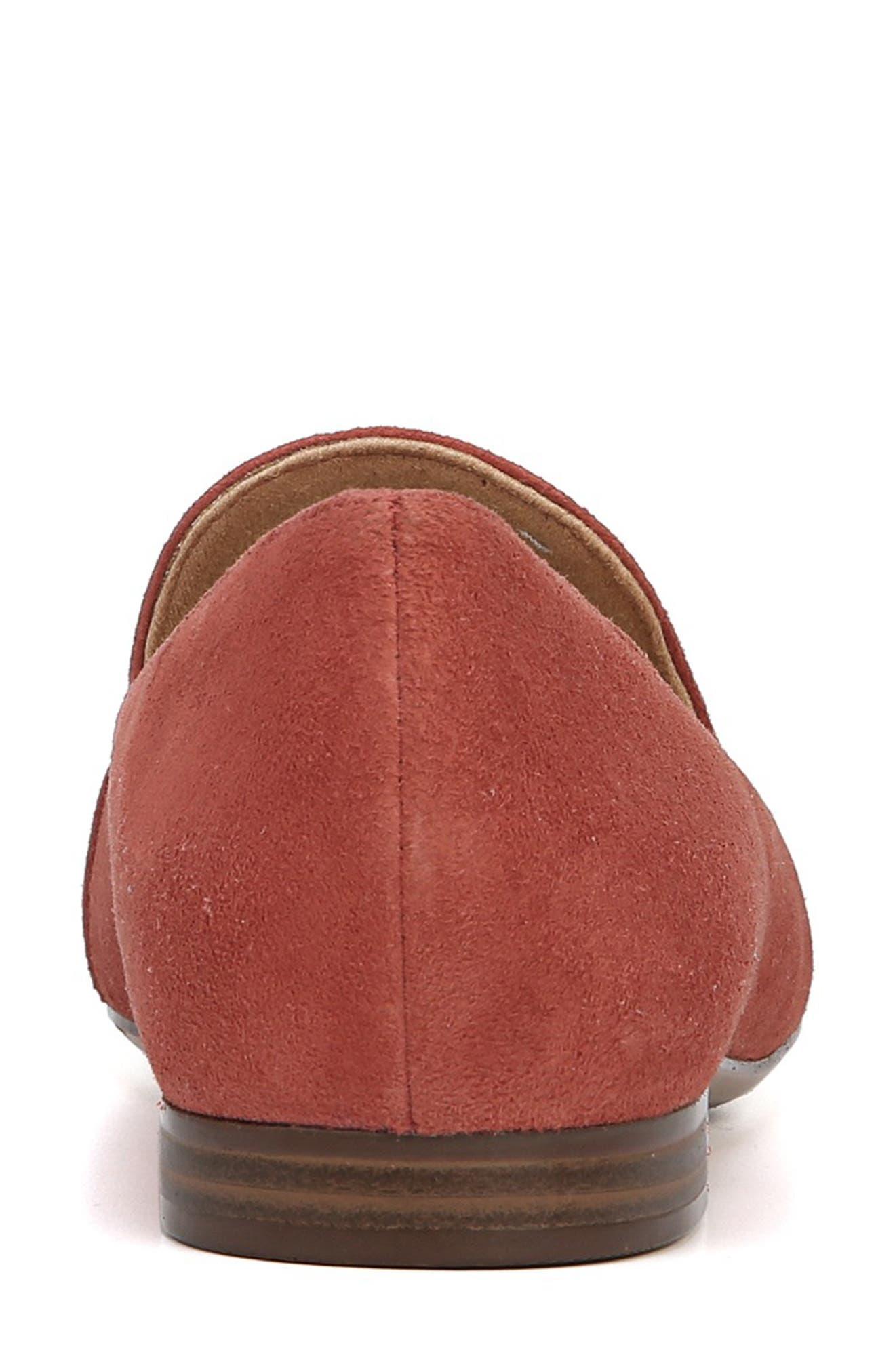 Emiline Flat Loafer,                             Alternate thumbnail 7, color,                             DESERT CLAY SUEDE