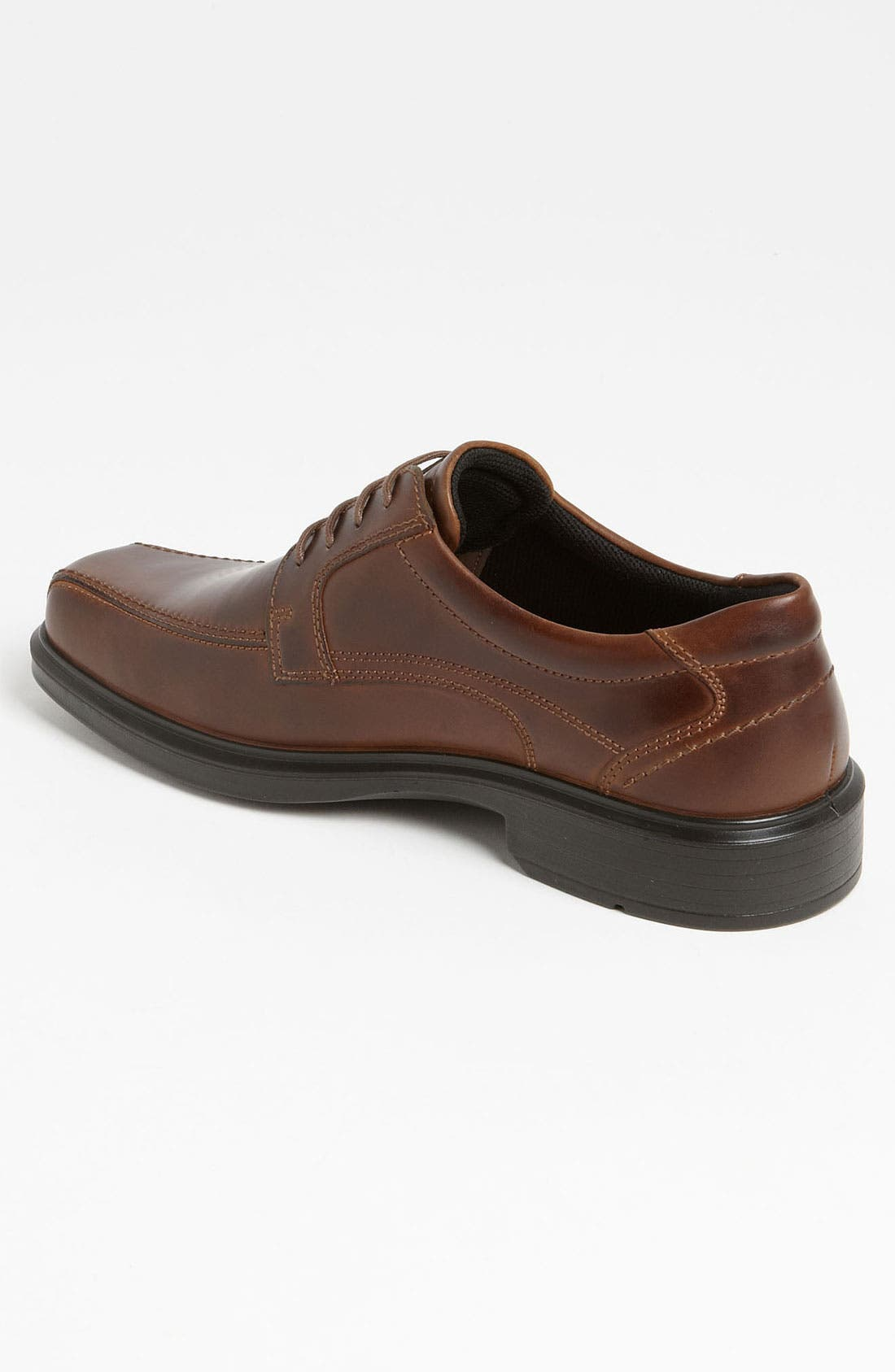 'Helsinki' Square Bike Toe Oxford,                             Alternate thumbnail 6, color,                             COCOA BROWN