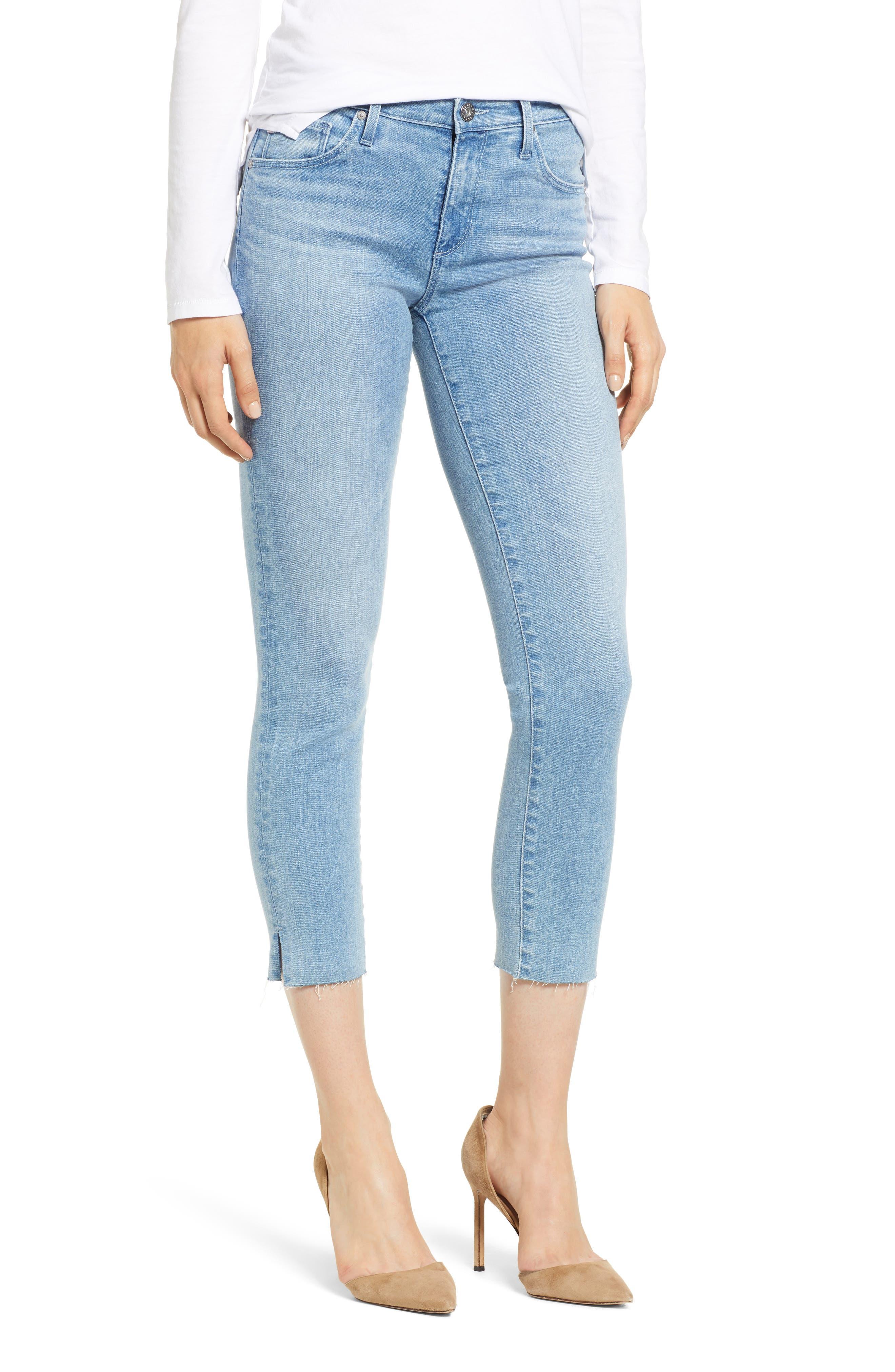 Prima Crop Skinny Jeans,                             Main thumbnail 1, color,                             SINGULARITY