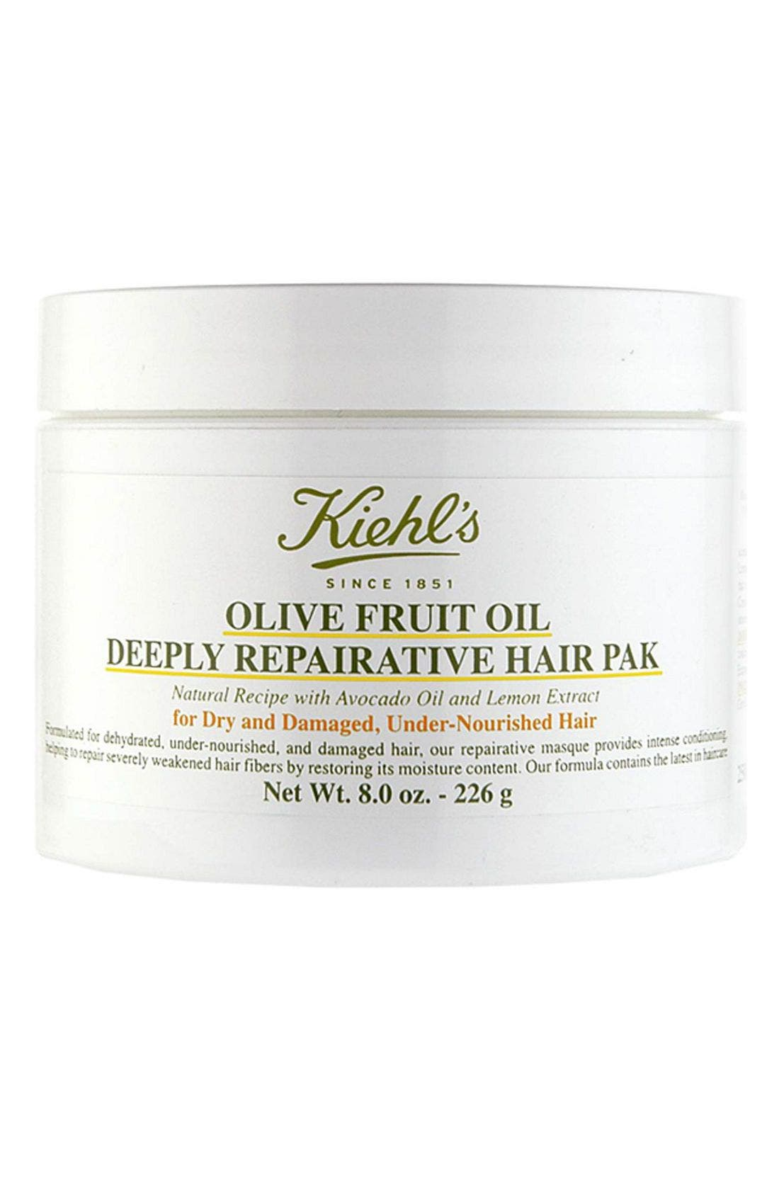 Olive Fruit Oil Repairing Hair Masque,                             Alternate thumbnail 7, color,                             NO COLOR