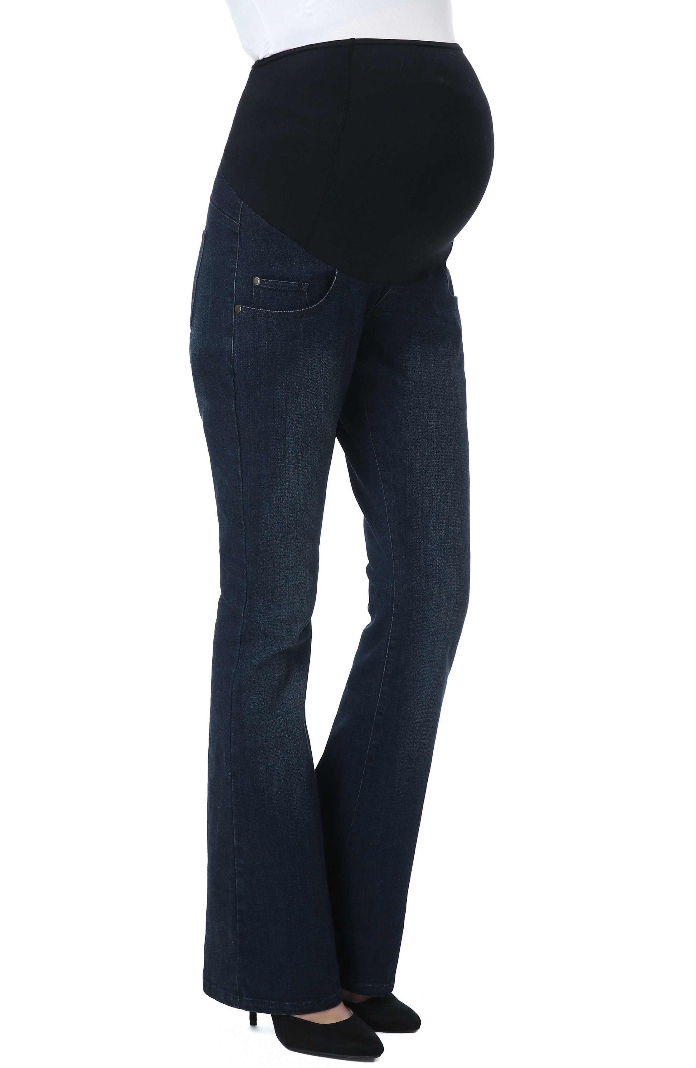 Leni Maternity Bootcut Jeans,                             Main thumbnail 1, color,                             010