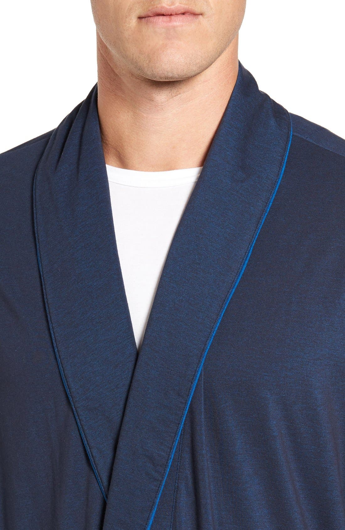 Cotton Blend Robe,                             Alternate thumbnail 8, color,