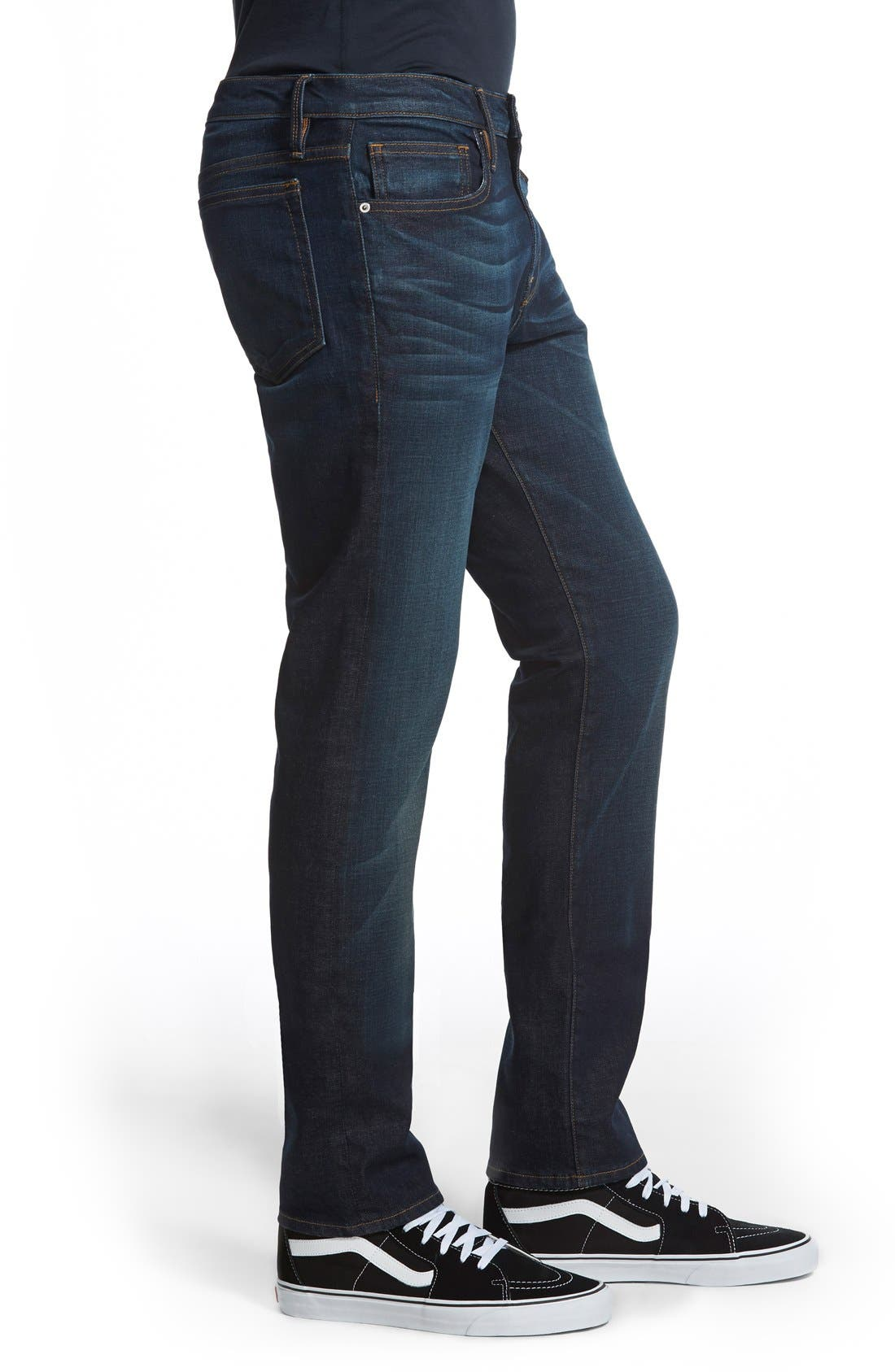 L'Homme Skinny Fit Jeans,                             Alternate thumbnail 11, color,