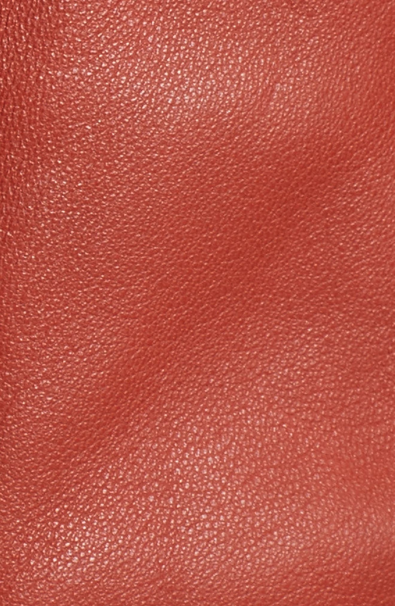 Ryder Leather Jacket,                             Alternate thumbnail 5, color,                             232