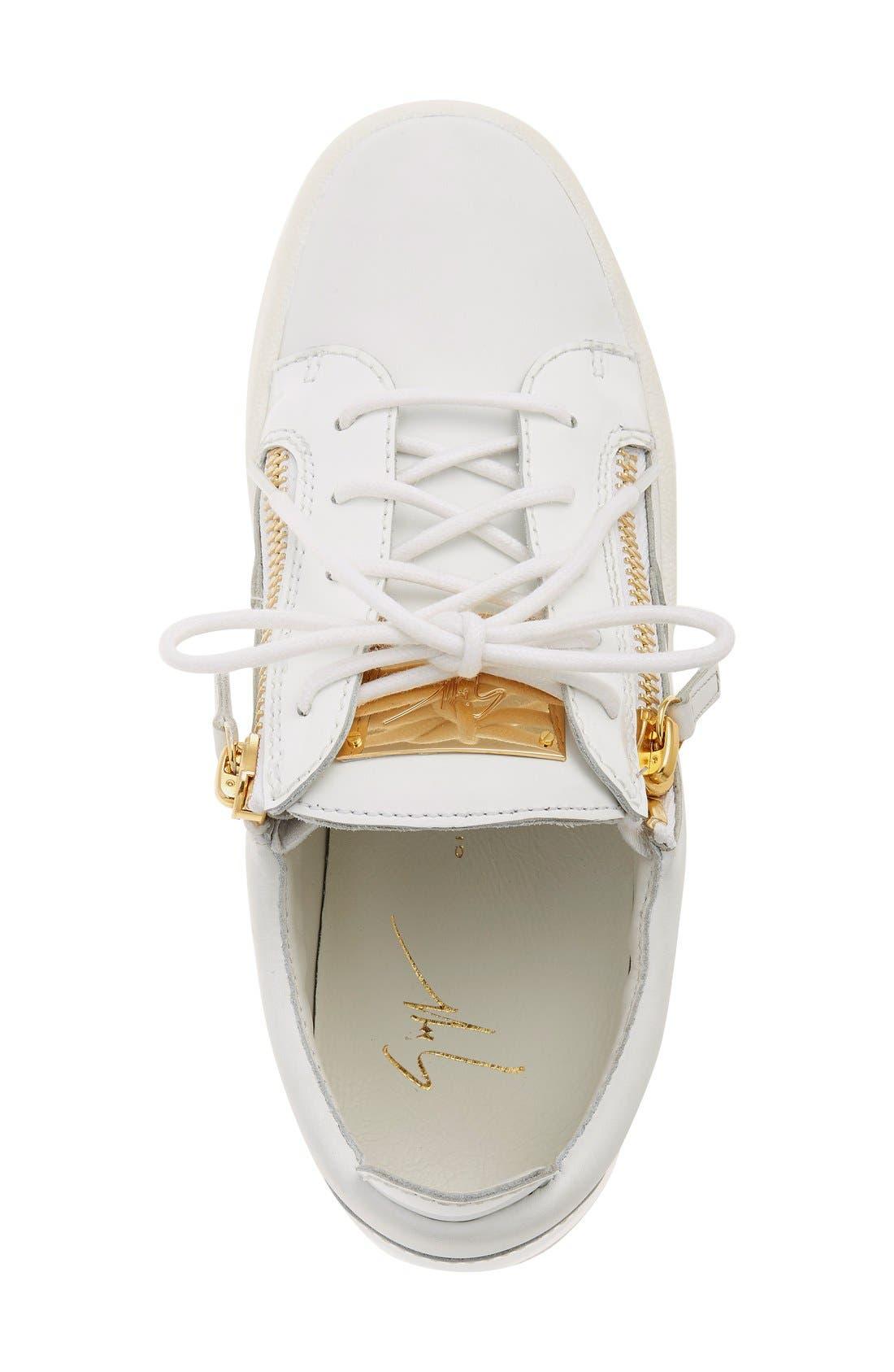 'May London' Snake Embossed Low Top Sneaker,                             Alternate thumbnail 2, color,                             101