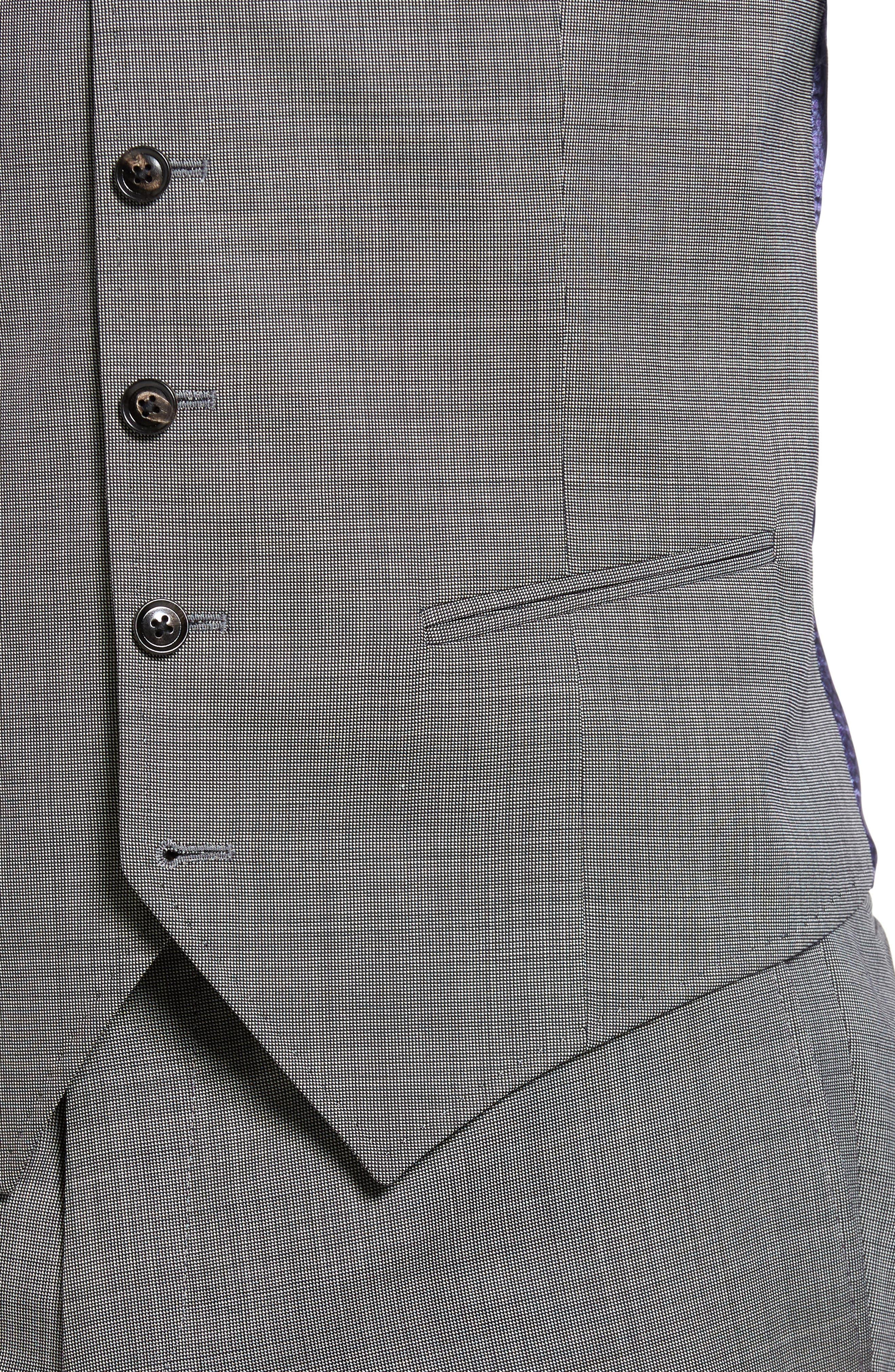 Jones Trim Fit Wool Vest,                             Alternate thumbnail 18, color,