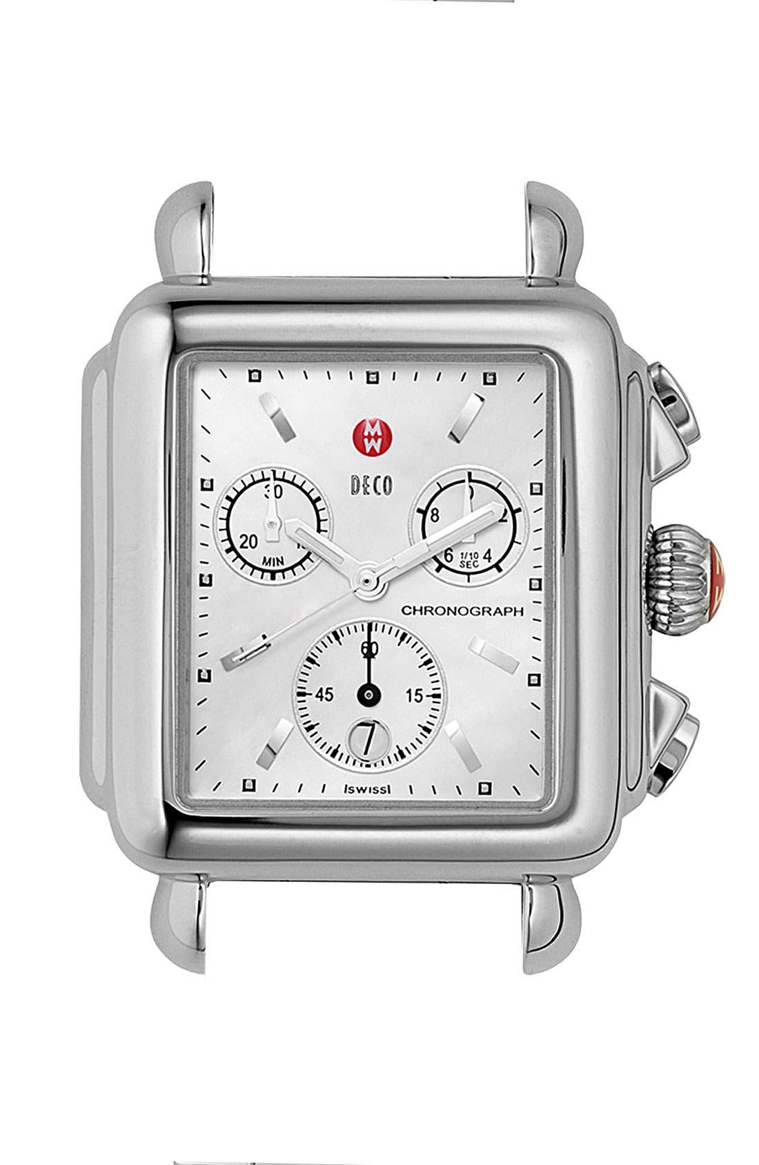 'Deco Carousel' Watch Case, Main, color, 040