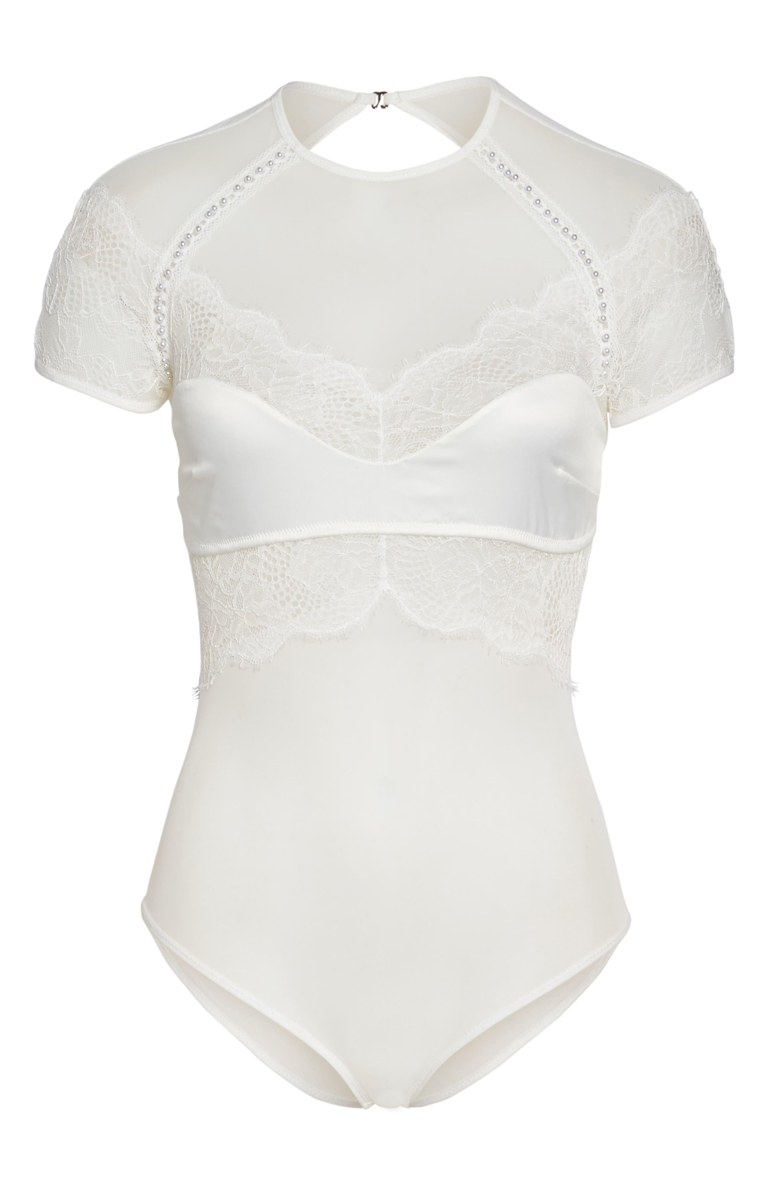 Thistle & Spire Sterling Embellished Bodysuit,                             Alternate thumbnail 6, color,                             900