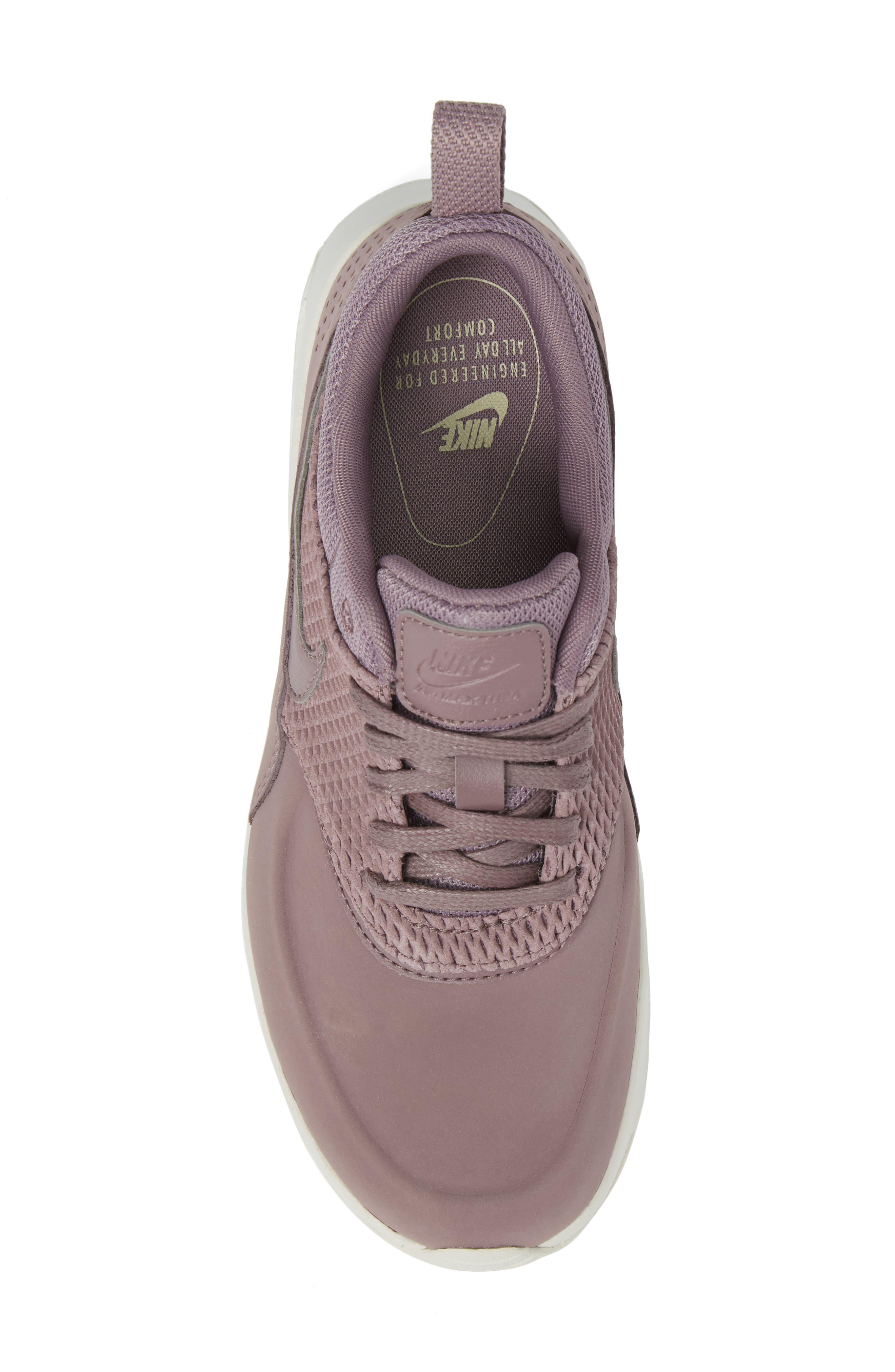 Air Max Thea Premium Sneaker,                             Alternate thumbnail 5, color,                             025