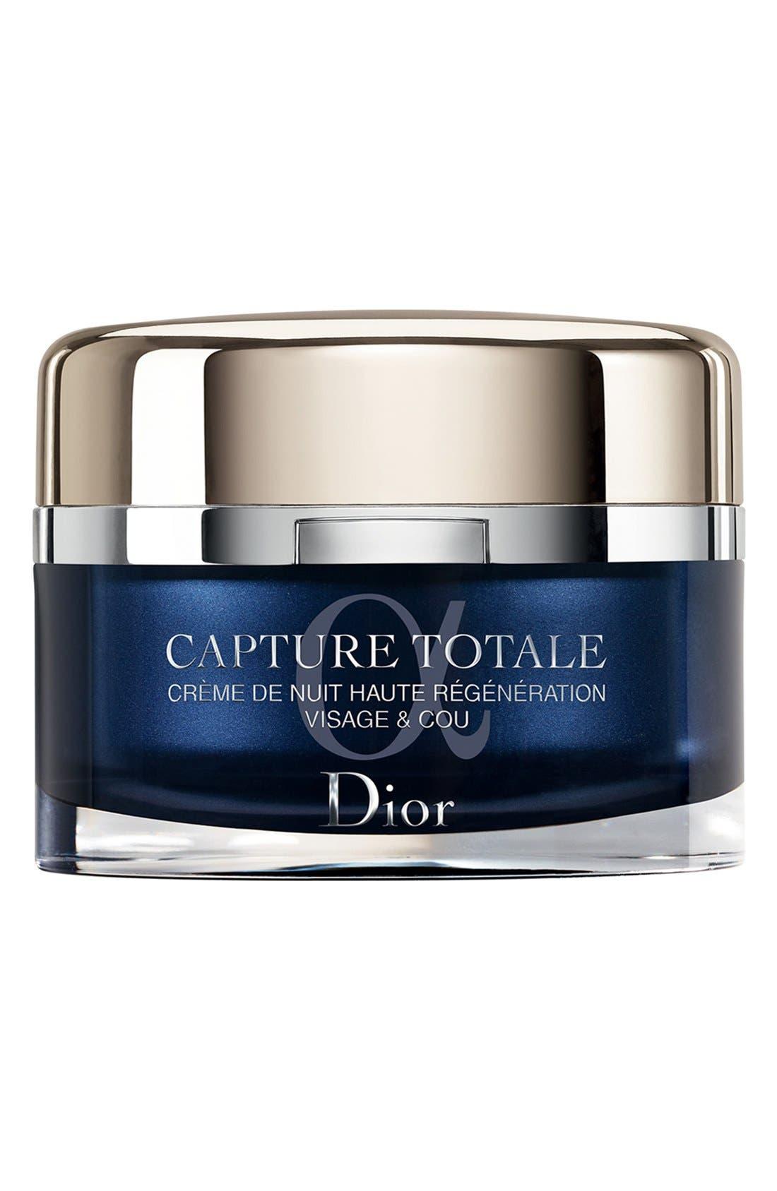 Capture Totale Intensive Restorative Night Crème for Face & Neck,                             Main thumbnail 1, color,                             NO COLOR