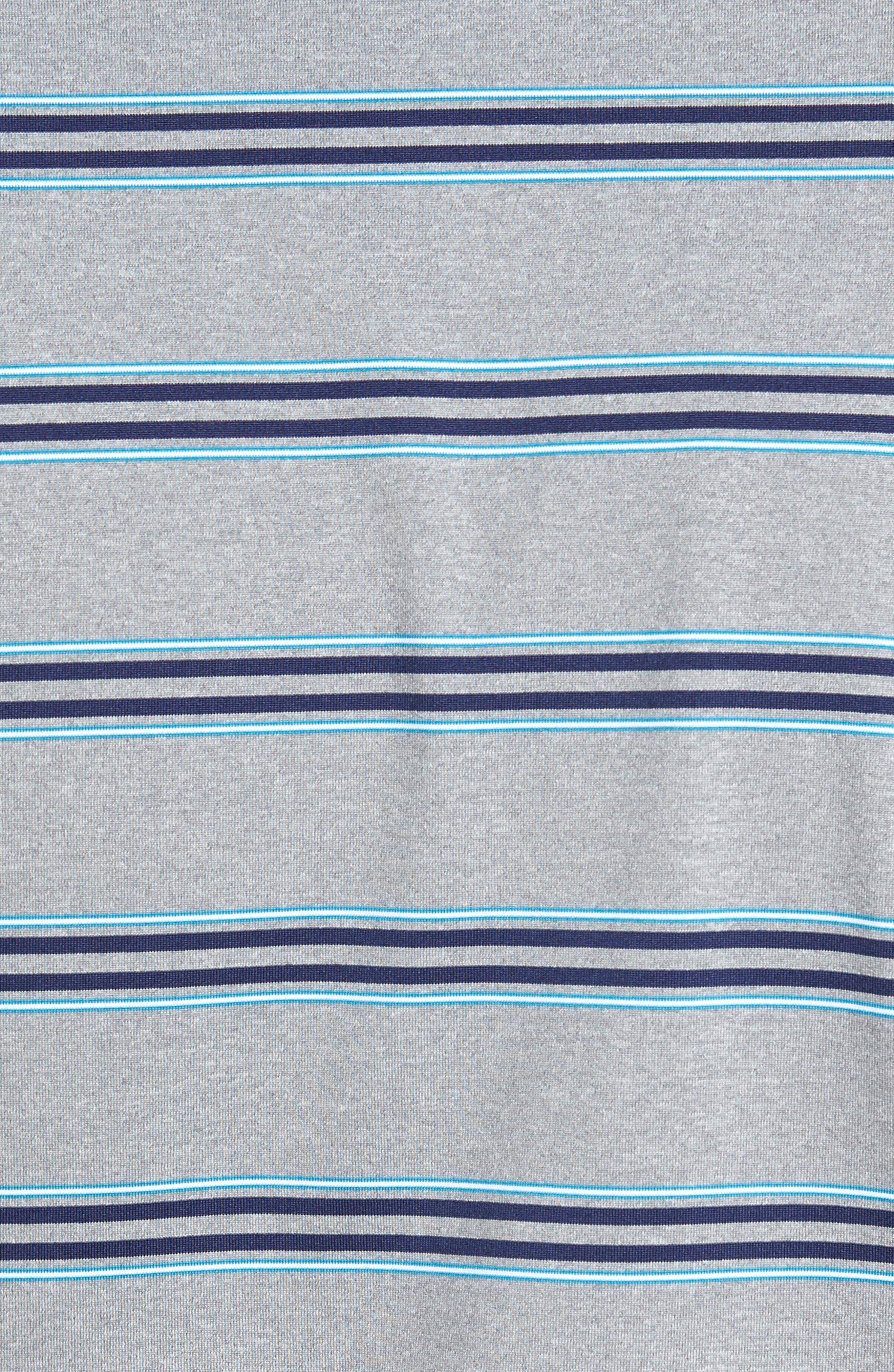 XH2O Wren Heather Stripe Polo,                             Alternate thumbnail 13, color,
