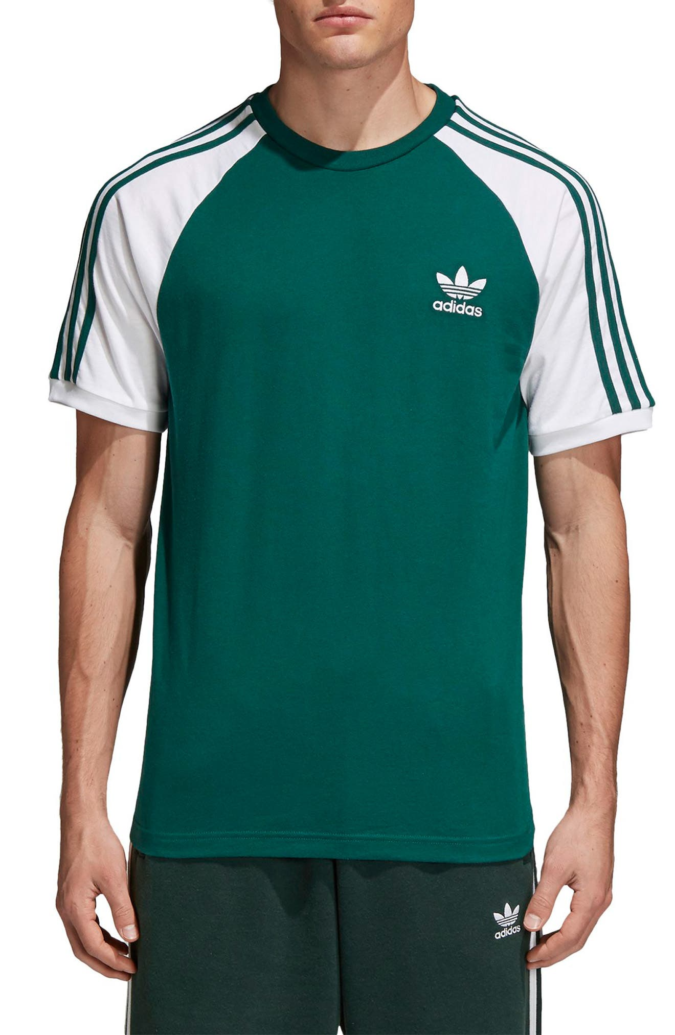 3-Stripes T-Shirt,                         Main,                         color, 305