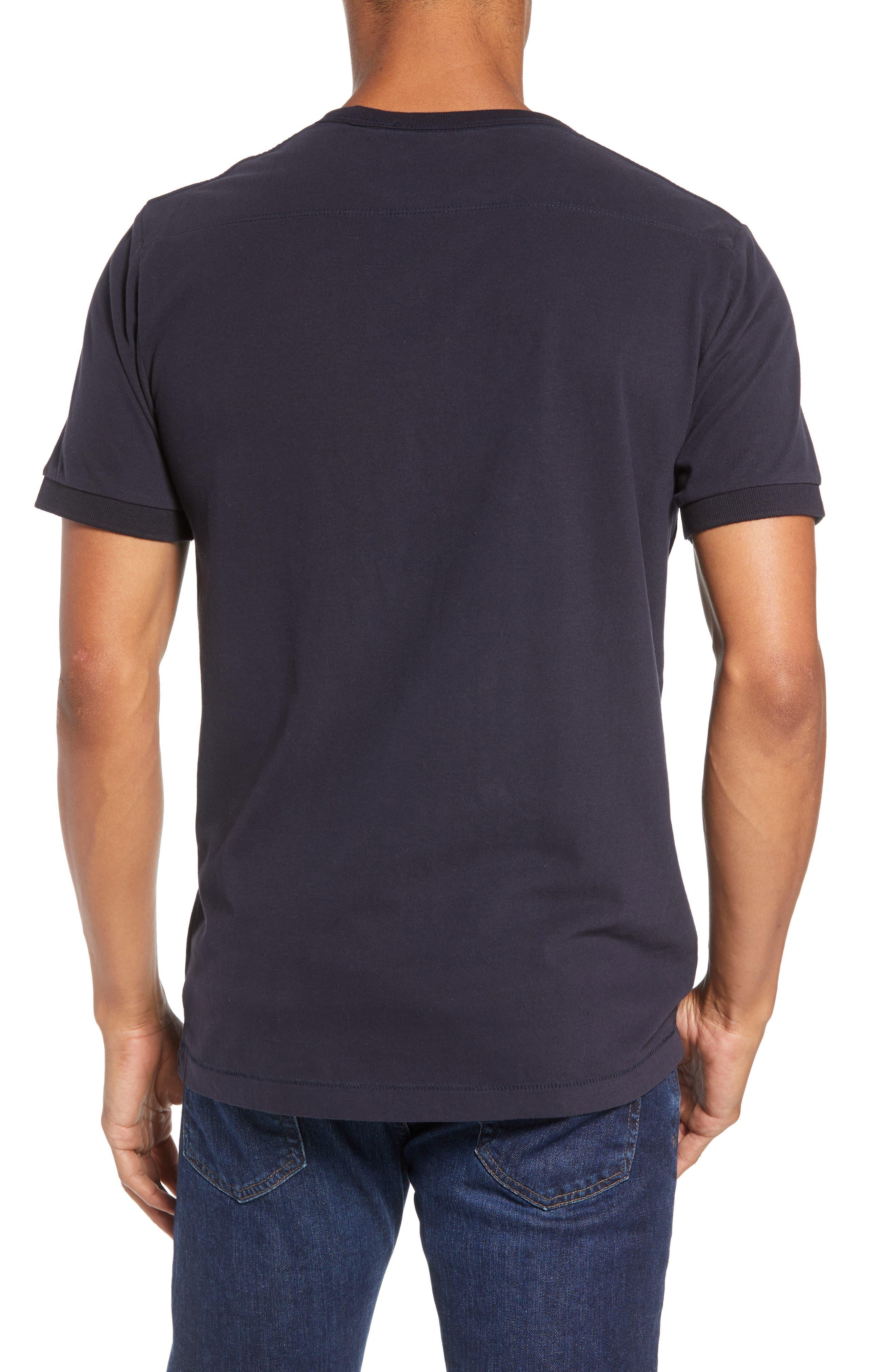 Finish T-Shirt,                             Alternate thumbnail 2, color,                             UTILITY BLUE