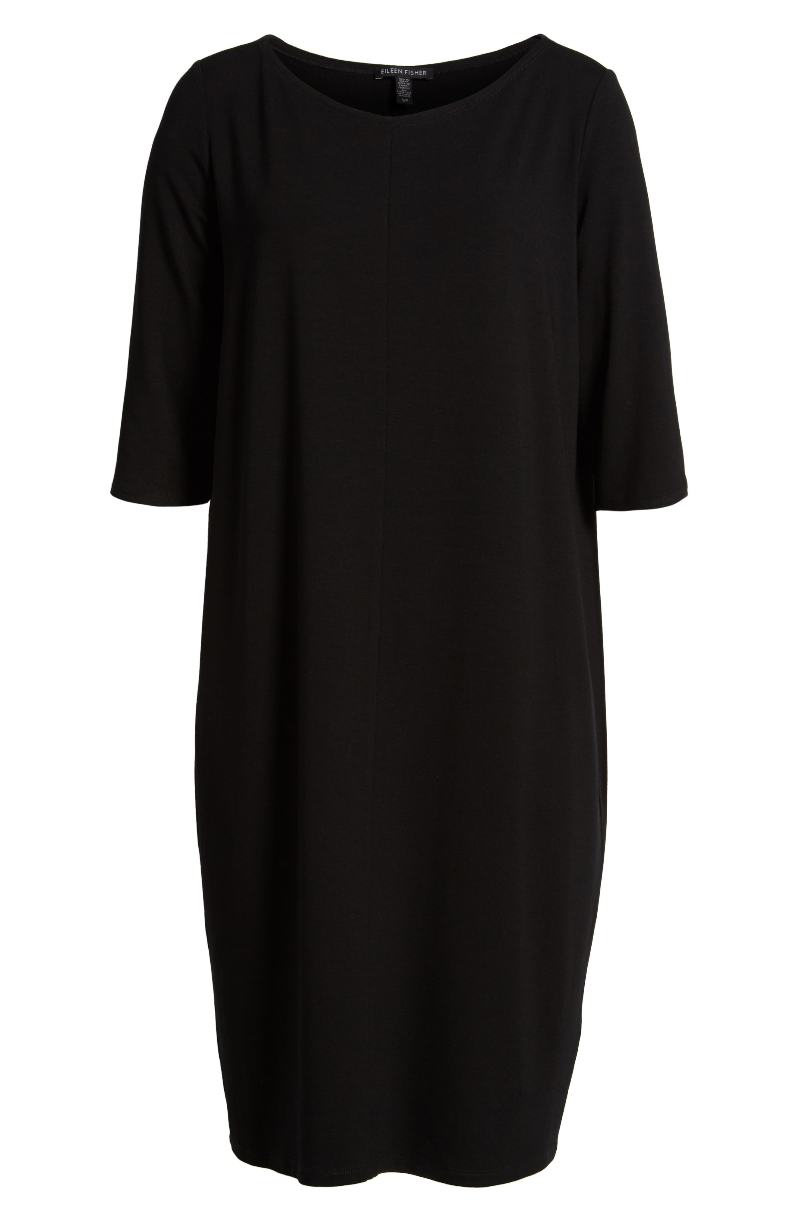 Jersey Shift Dress,                             Alternate thumbnail 16, color,