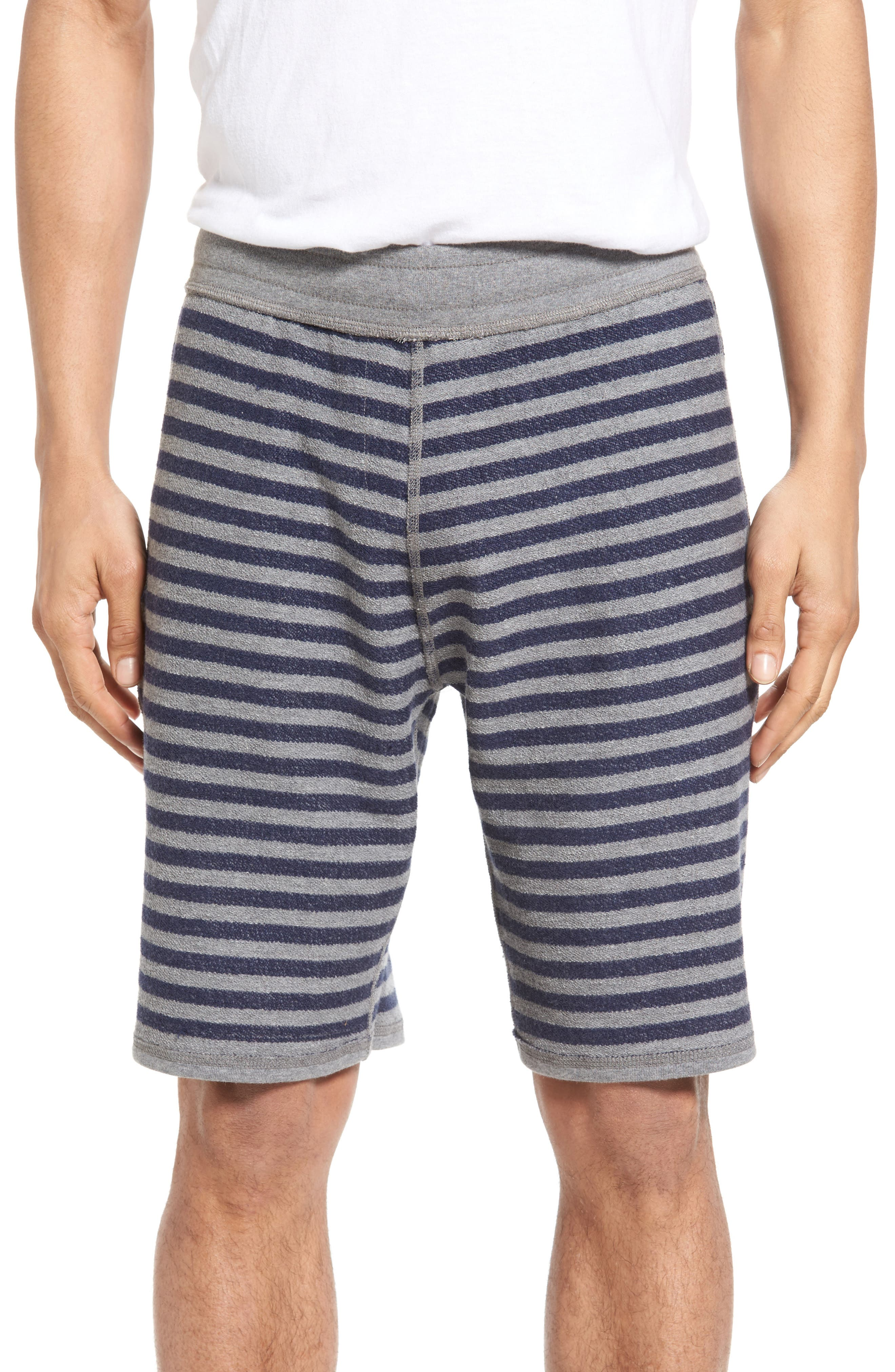 Reversible French Terry Sweat Shorts,                             Alternate thumbnail 4, color,                             038