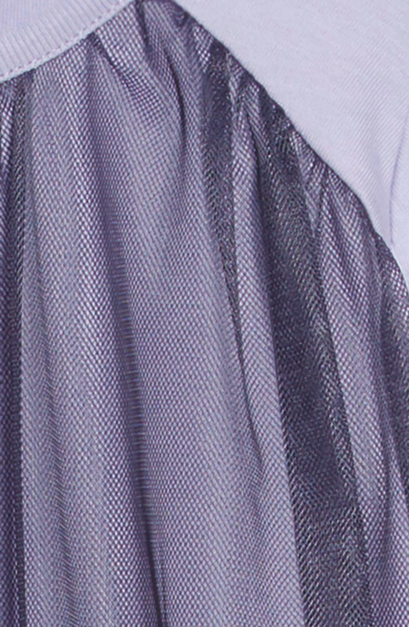 Twirling Tulle Dress,                             Alternate thumbnail 3, color,                             LILAC MIST
