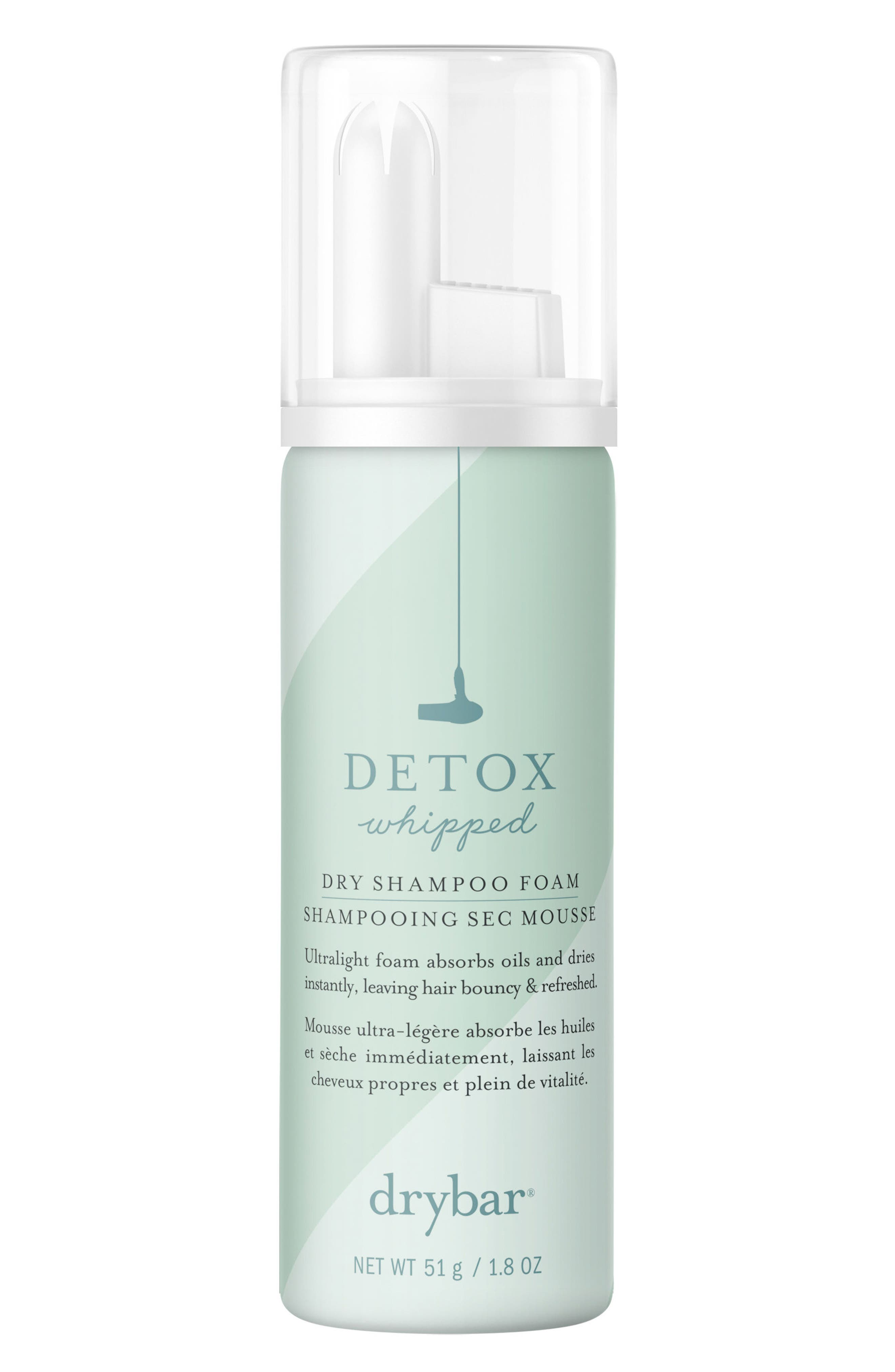 DRYBAR,                             Detox Whipped Dry Shampoo Foam,                             Alternate thumbnail 2, color,                             NO COLOR