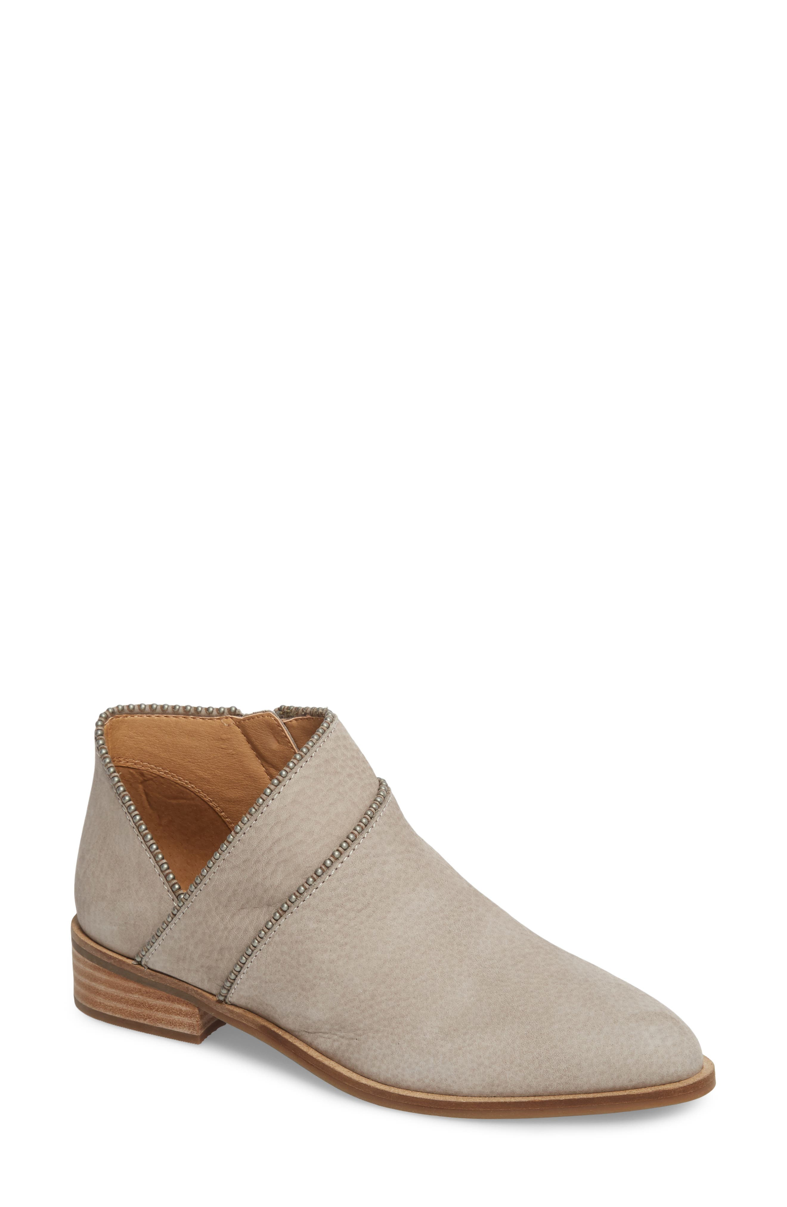 Lucky Brand Perrma Bootie- Grey